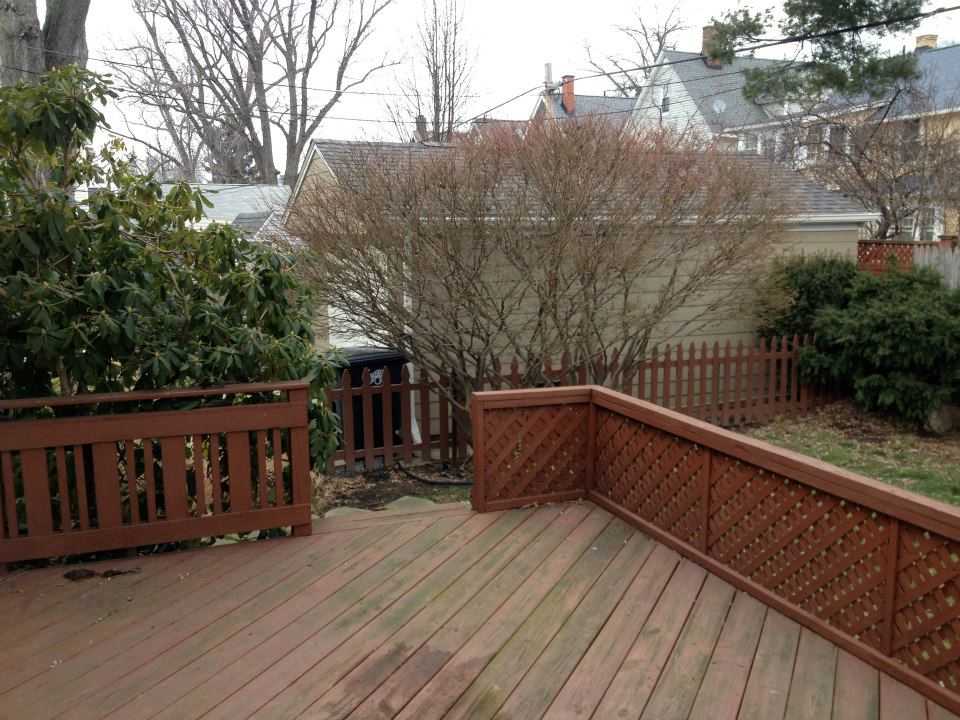 colorwhirl | before & after | back deck