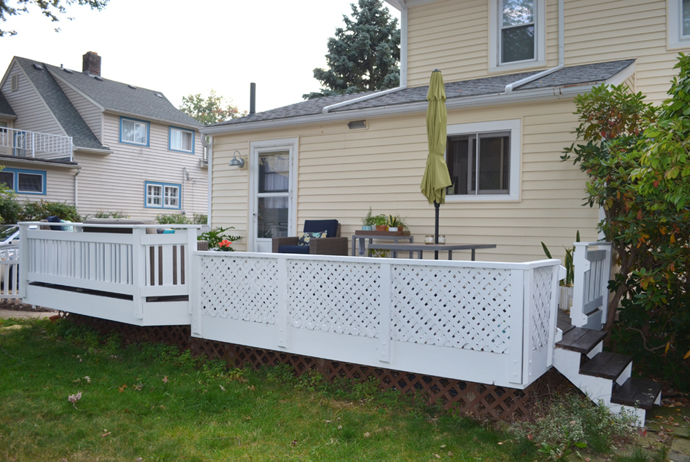 Landscaping is something we'll tackle NEXT summer... so please excuse the unsightly yard.
