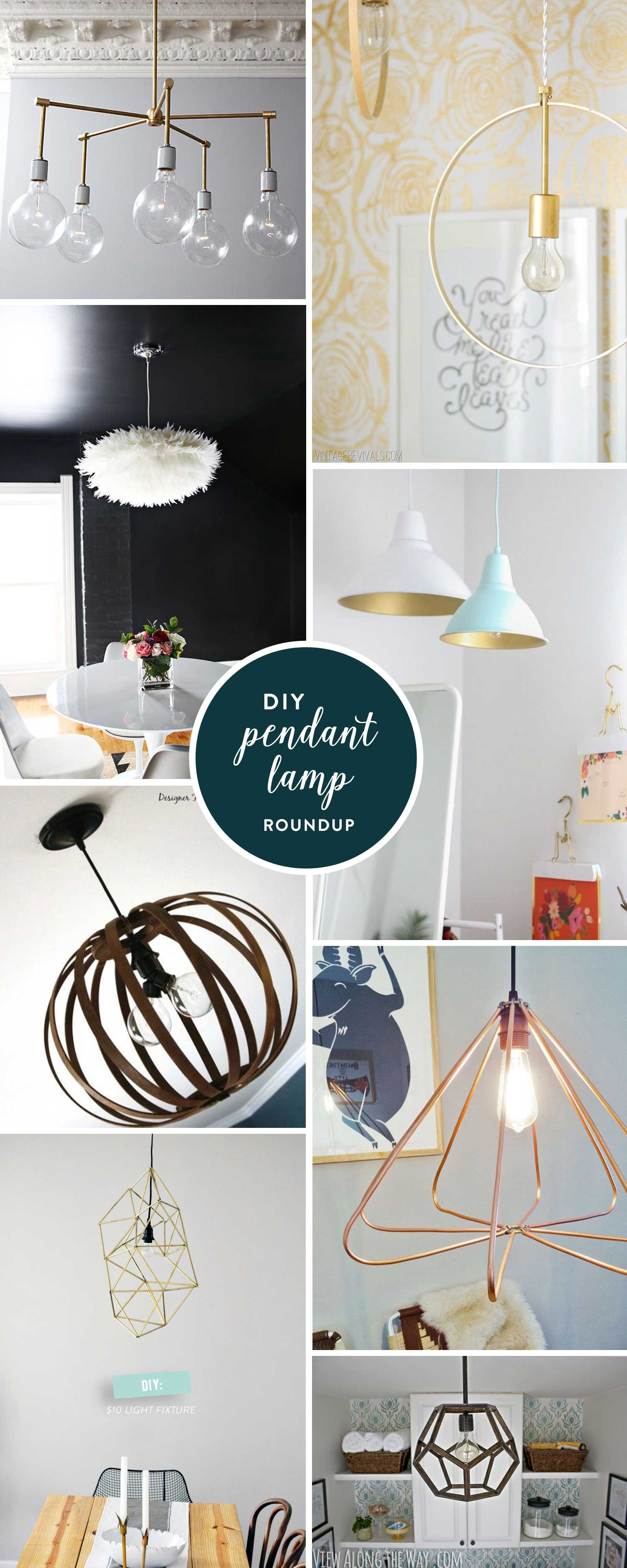 colorwhirl | diy pendant lamp inspiration