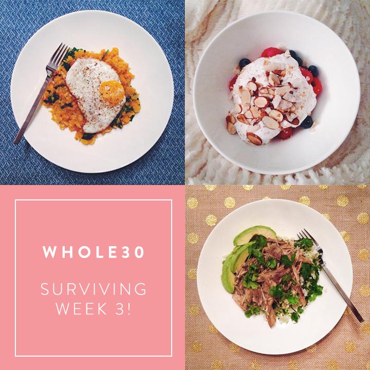 colorwhirl | whole30, week 3