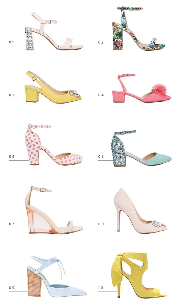 colorwhirl | spring statement heels