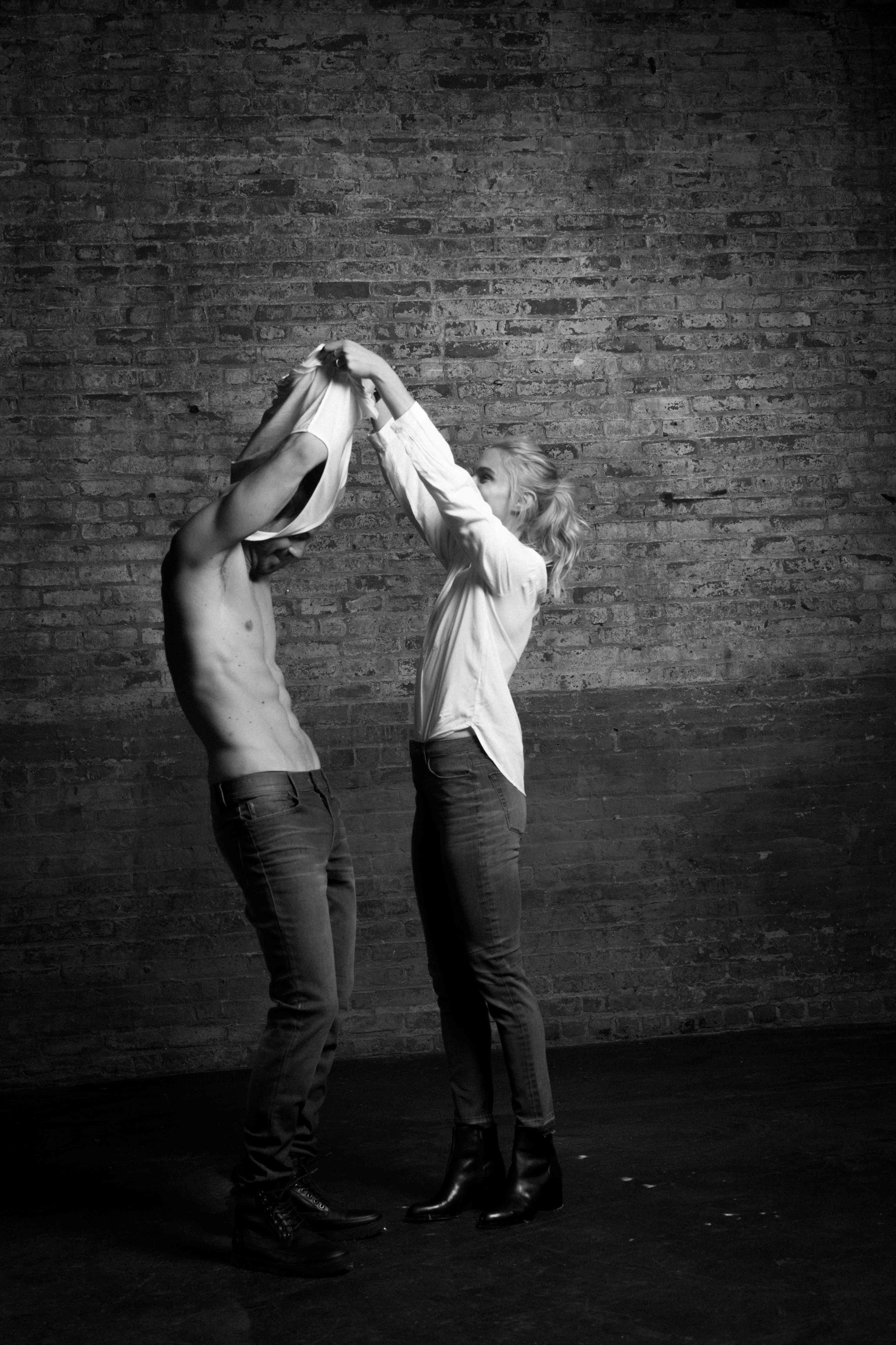 Claire Wustenberg and Emanuelle Fiore