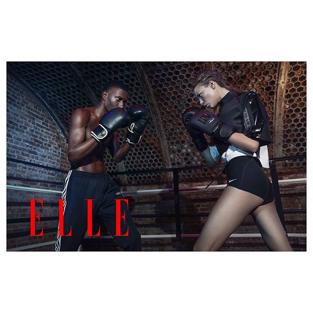 IN THE WORKOUT REGIME by Joseph Chen @josephchenny for @elle.bg . A special thanks to @mariaginsta the Editor of #ellebulgairia . . . . . . . . . . .  #styling @freddie_leiba #hairmakeup @greggbrockingtonmakeup @menelaosnyc #models @aga_wojtasik at @newyorkmodels #edwingil @red_models  #editorial #josephchen #newyorkfashionphotographer #nycphotographer #fashionphotography  #fashionmodel #models #fitness #boxing #workout assistants:  @josephpasaoa @billy.jim @mdplook Stylist Assistant @crocelldong of the Shandong Agency photographed at @overthrownewyork #josephchen #freddieleiba #elle trained by #hectorroca @roca_hector @gleasonsgym