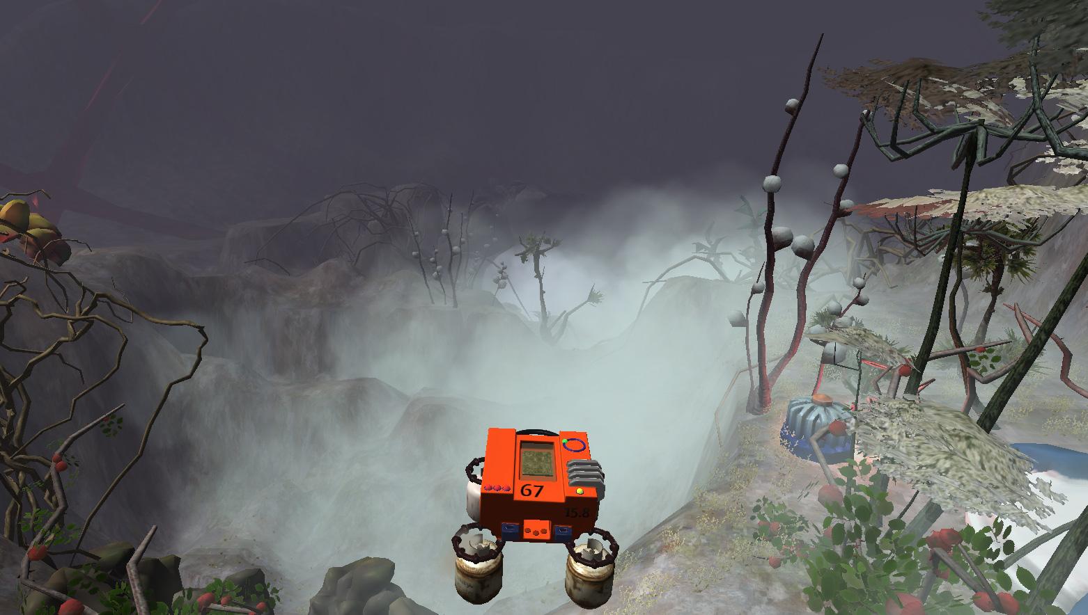 More interesting fog on the Jungle Fog level