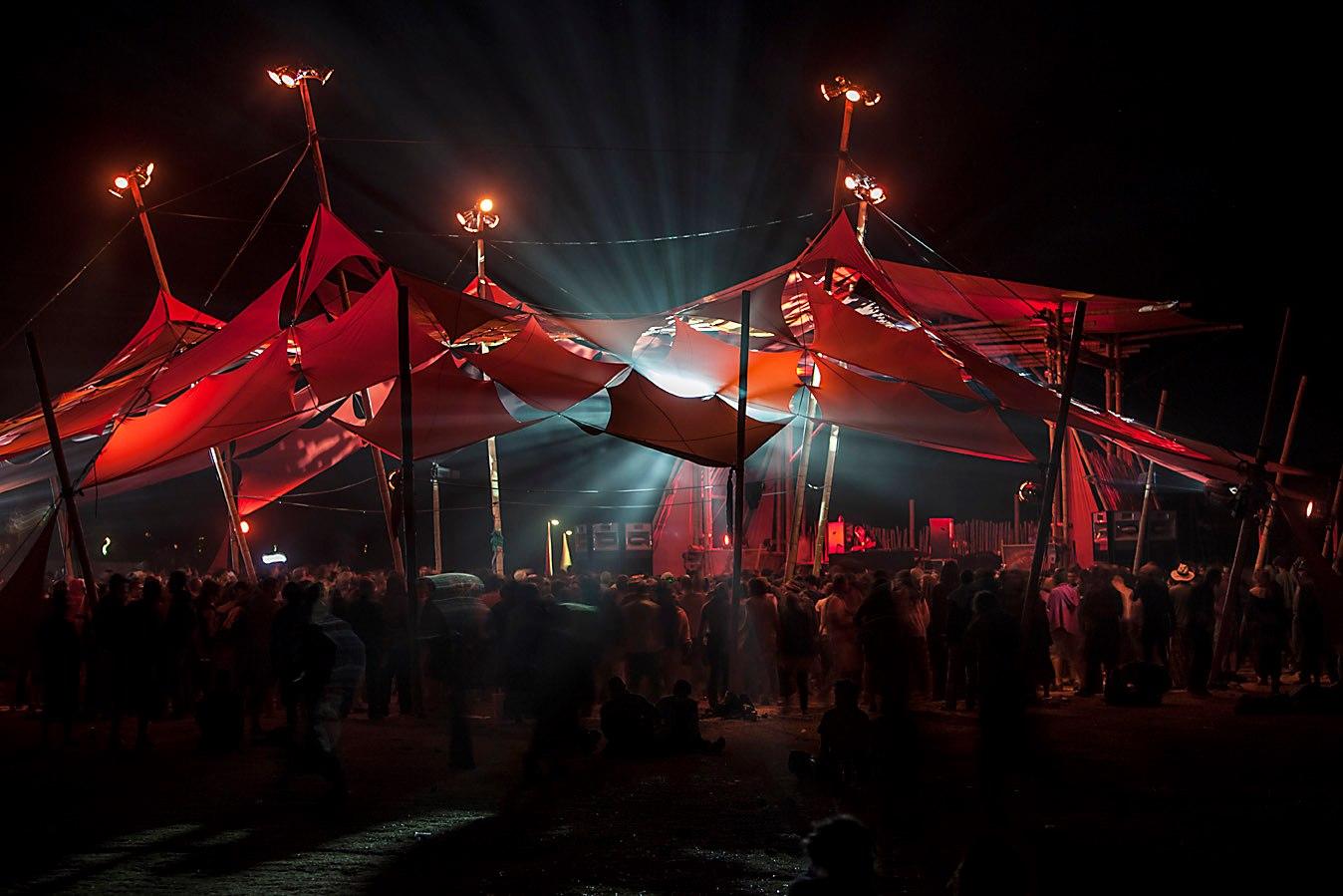 Boom Festival - Portugal 2012 - Collaboration w/ Bamboo DNA