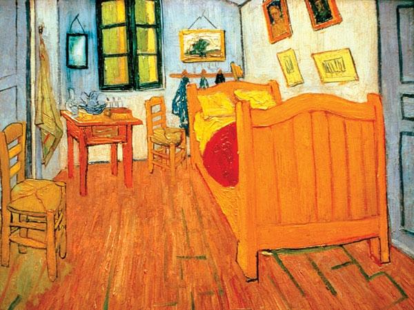 Vincent van Gogh,  Chambre à Arles