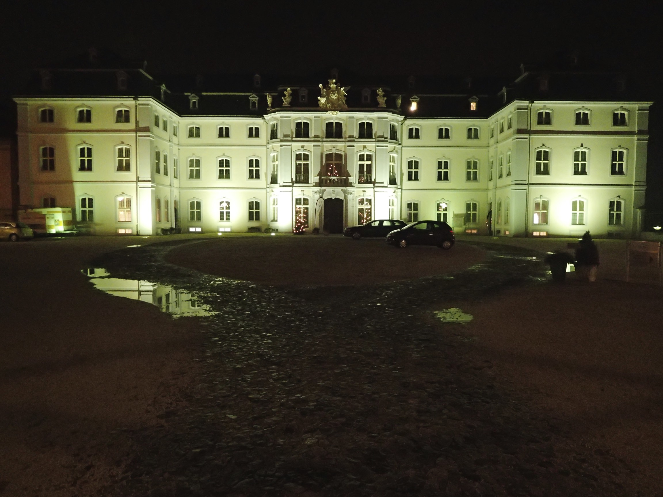 Engers Palace: a former hunting residence of the Dukes to Wied.