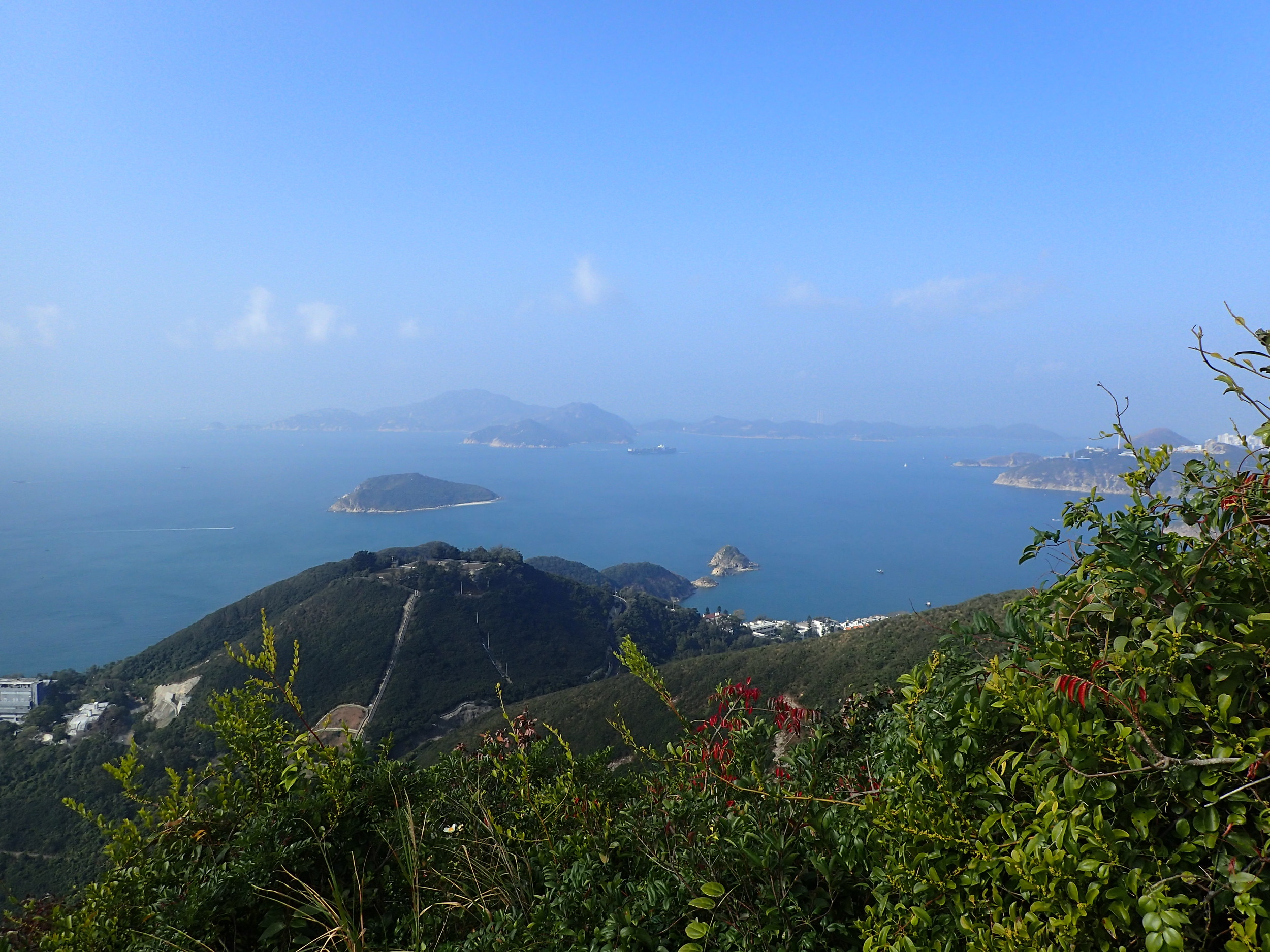 Steep starting point of the Wilson Trail, North of Stanley (Hong Kong Island)