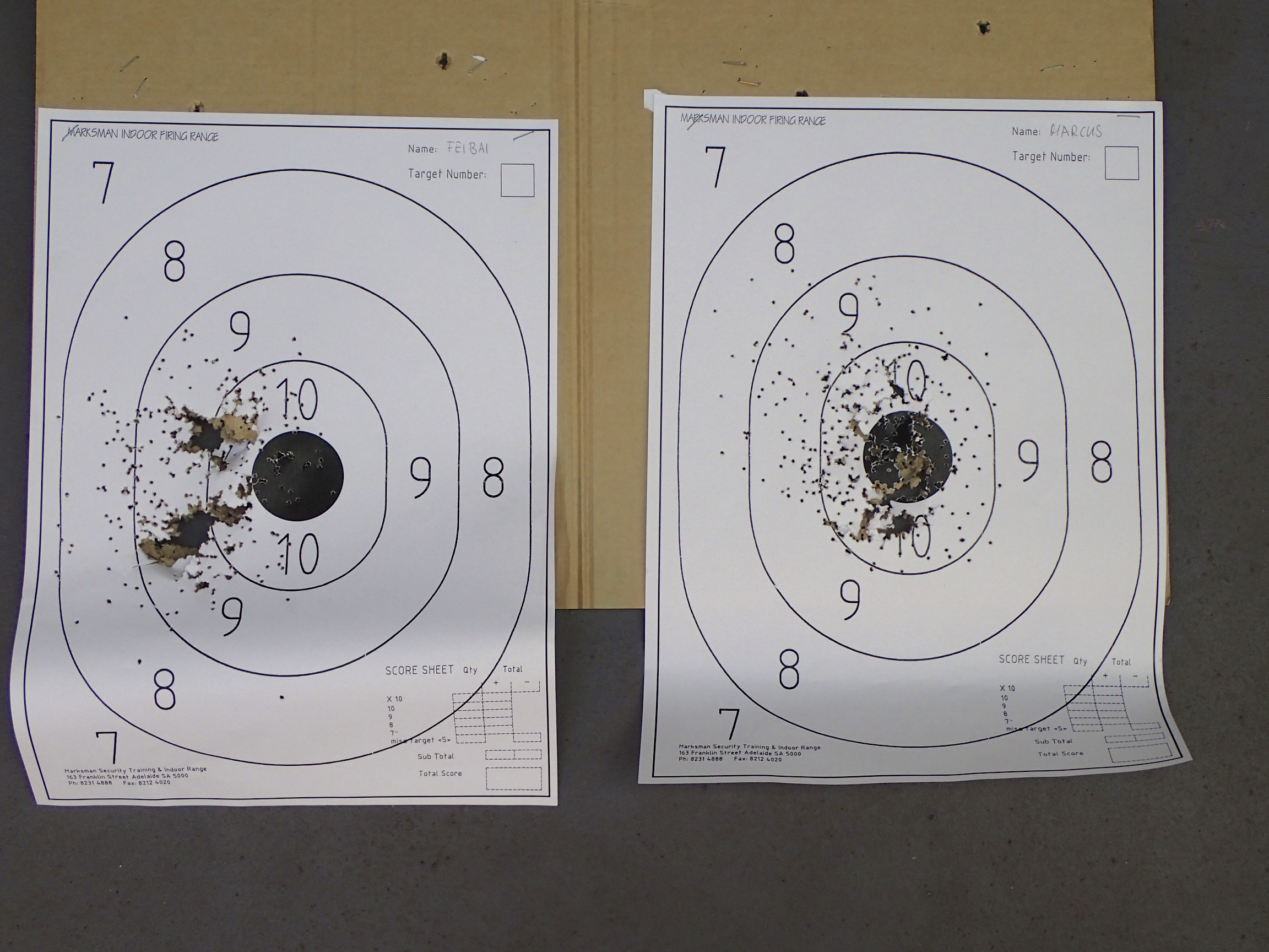 I still have some small advantage in accuracy and speed (left Feibai, right Marcus)