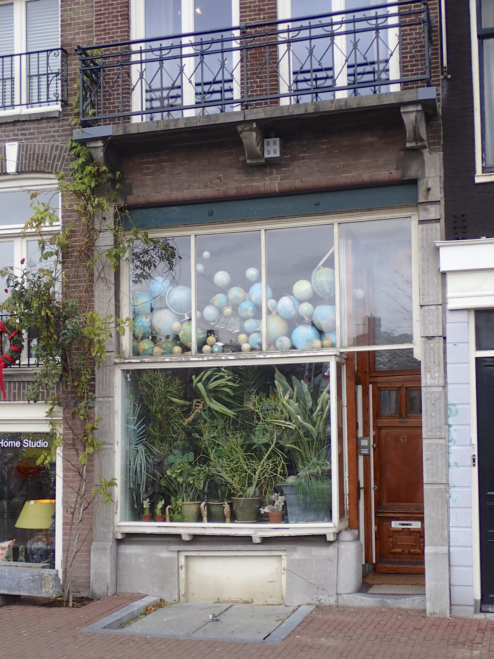 Global view in Amsterdam.