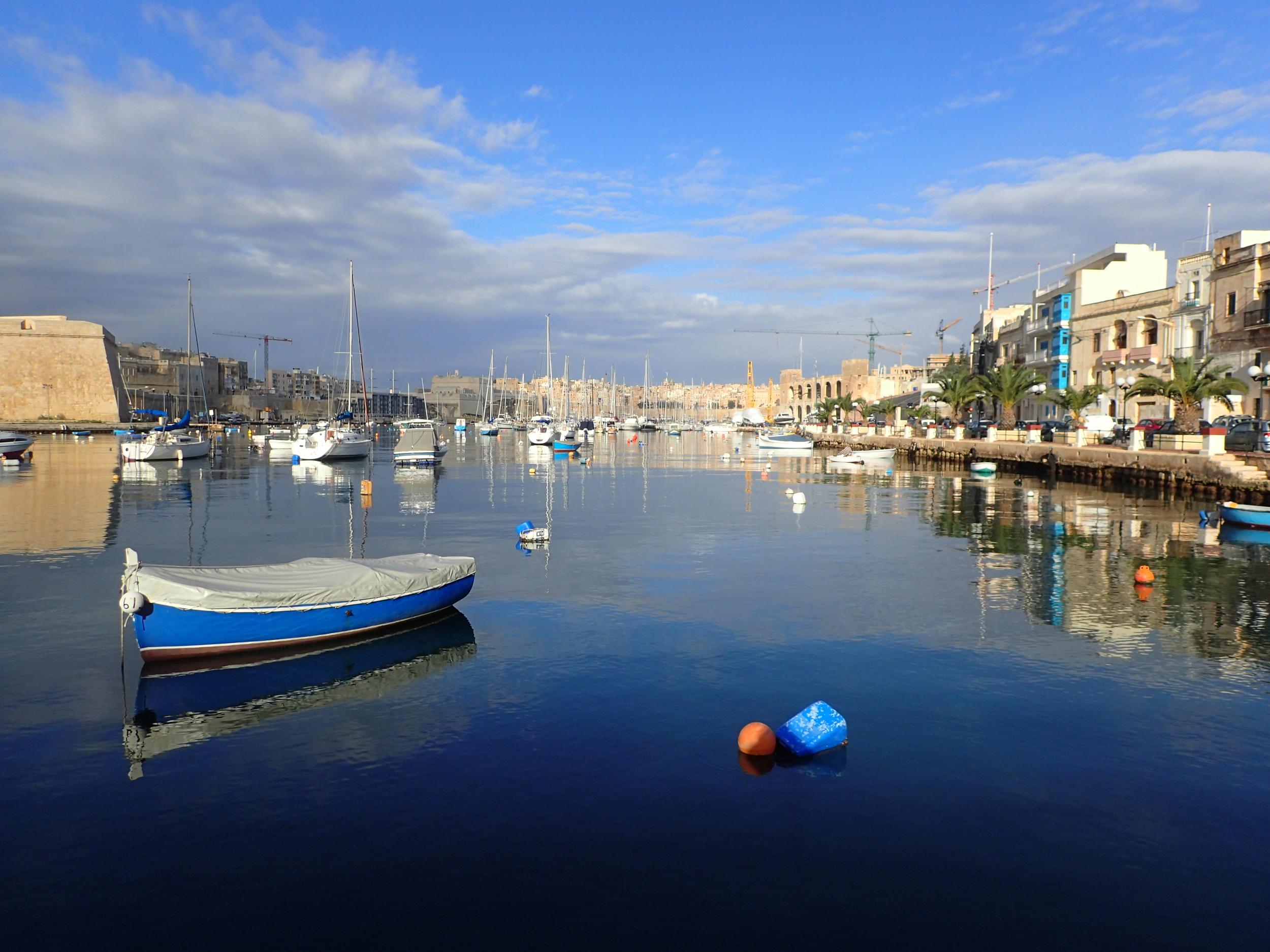 Morning view in Kalkara.