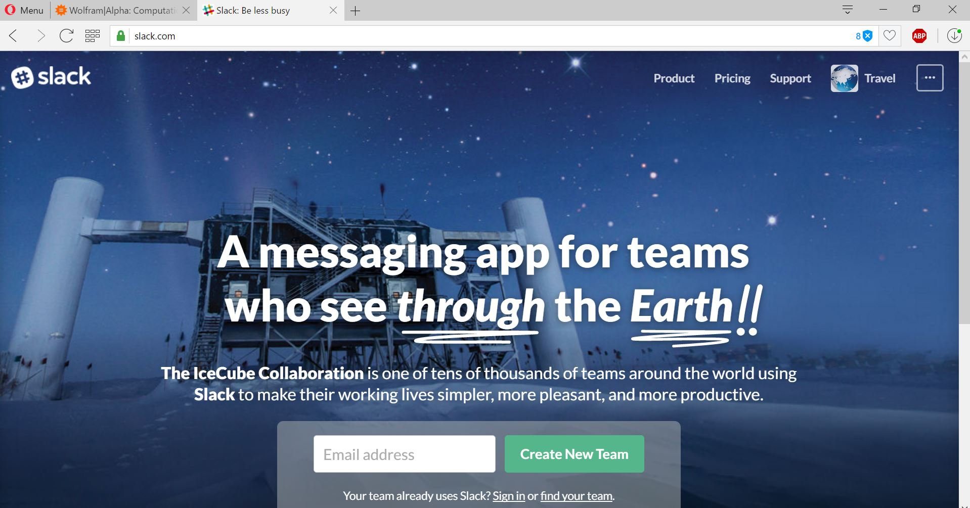 Slack is quite good, but a bit pricey. Hope they make it.