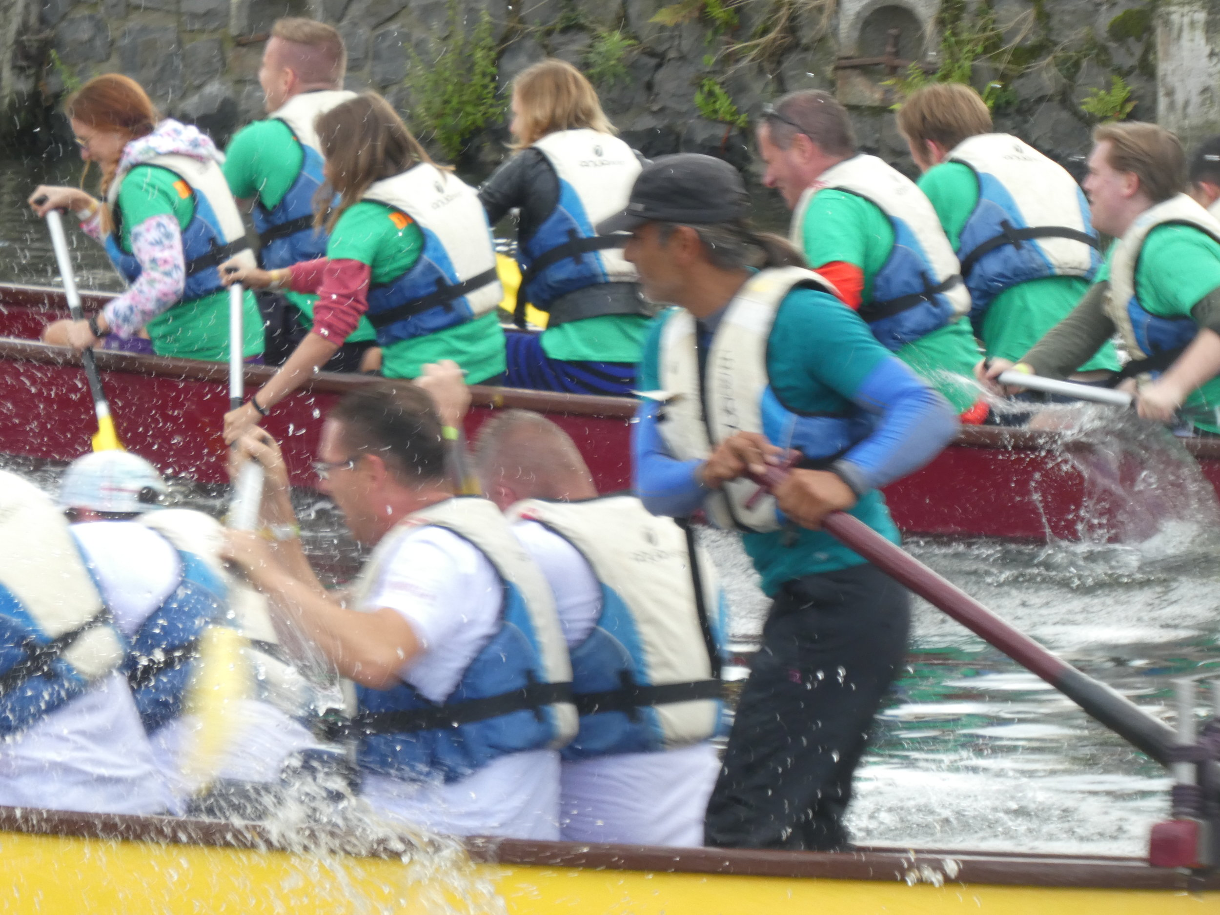 Dutch races of Dragonboats are equally fierce to Chinese ones ...