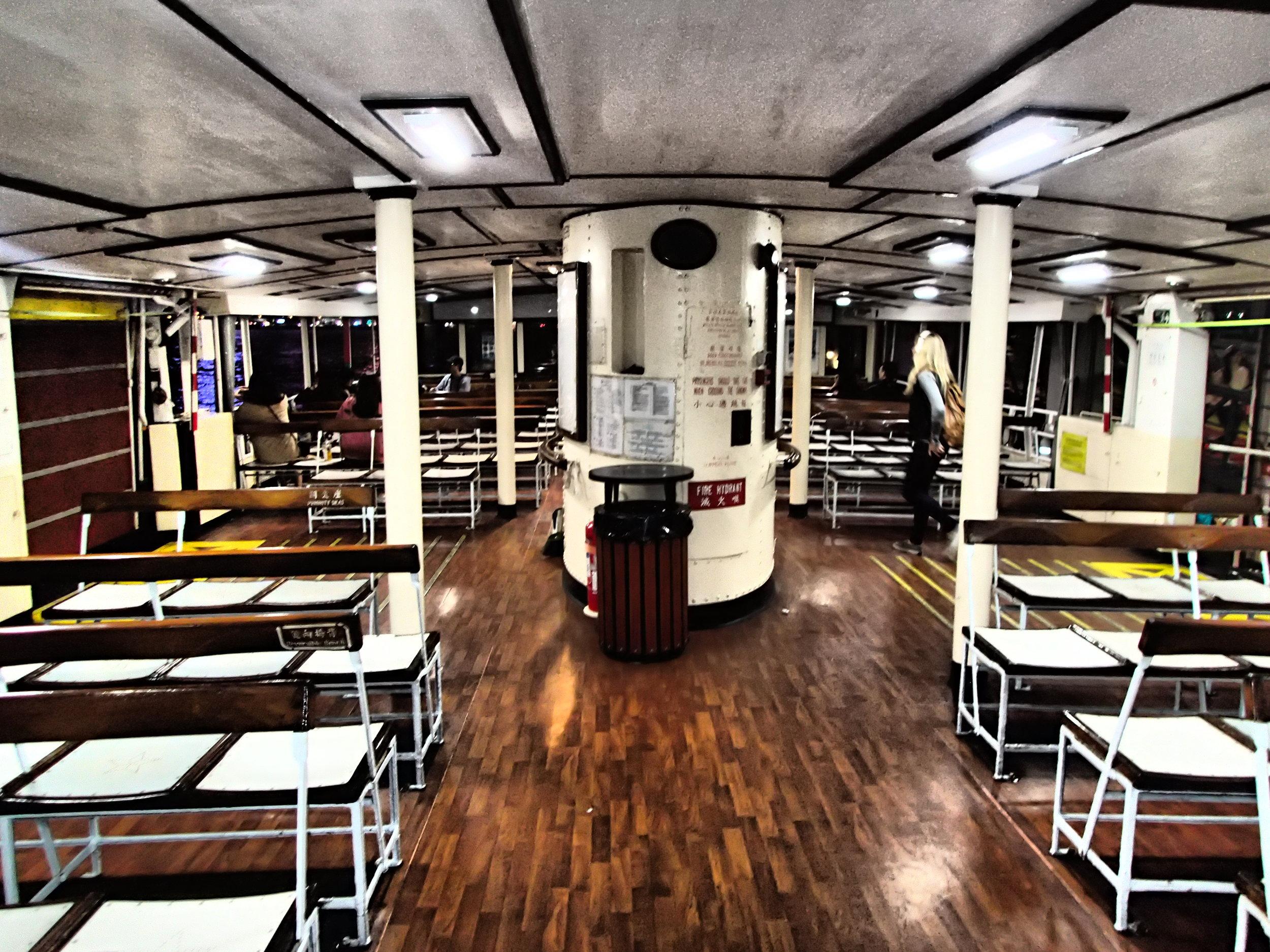 Upper Deck Star Ferry