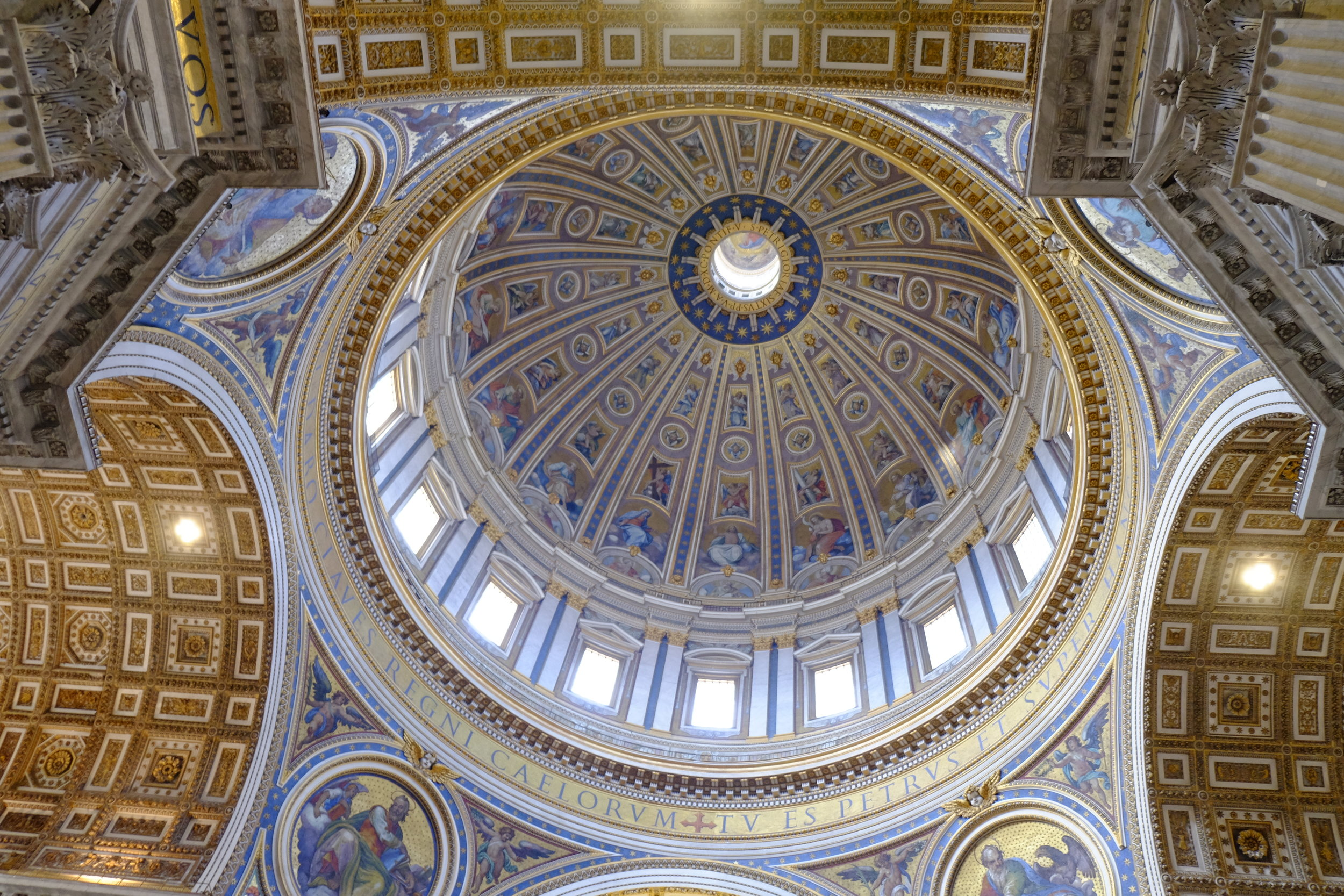 View into the Dome of St. Peter.