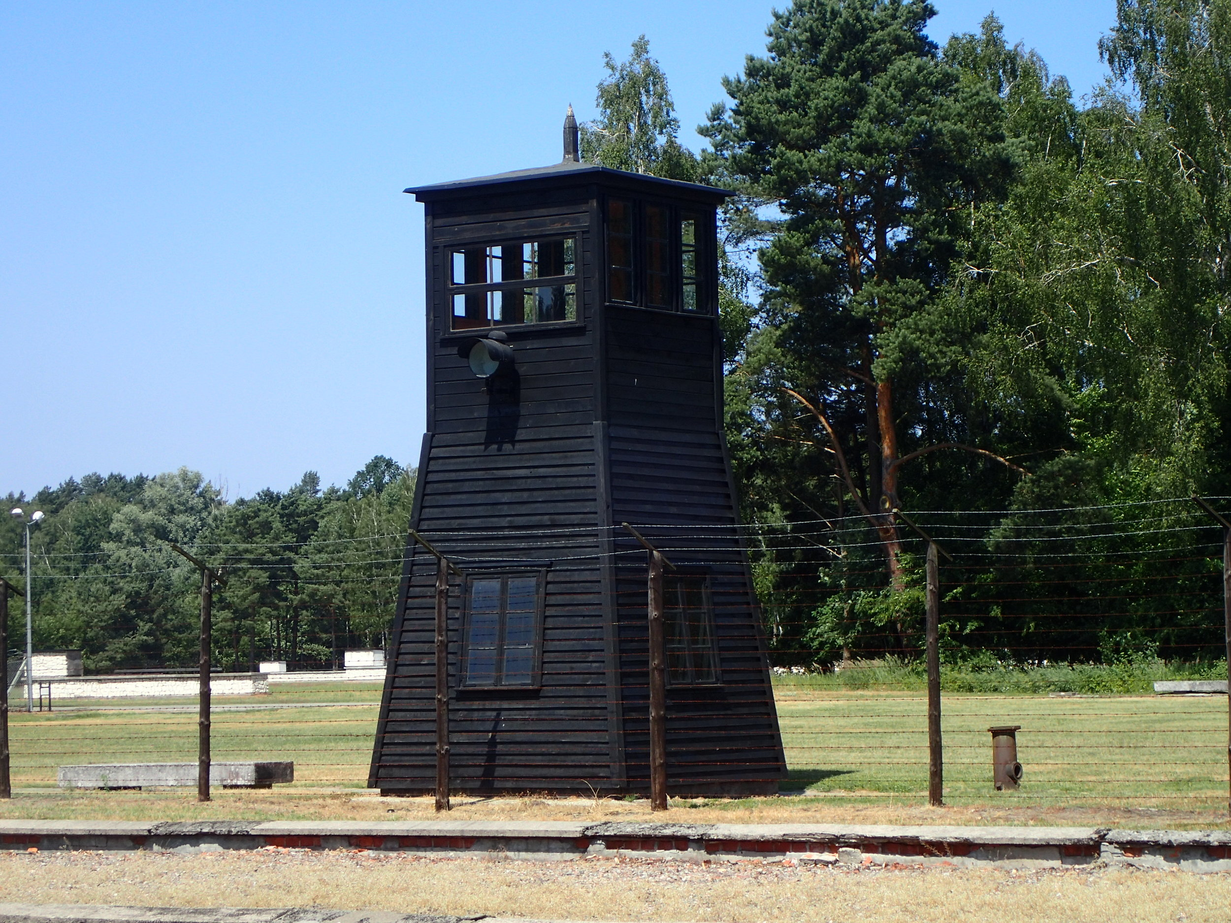 Watchtower at  Stutthof   Concentration Camp