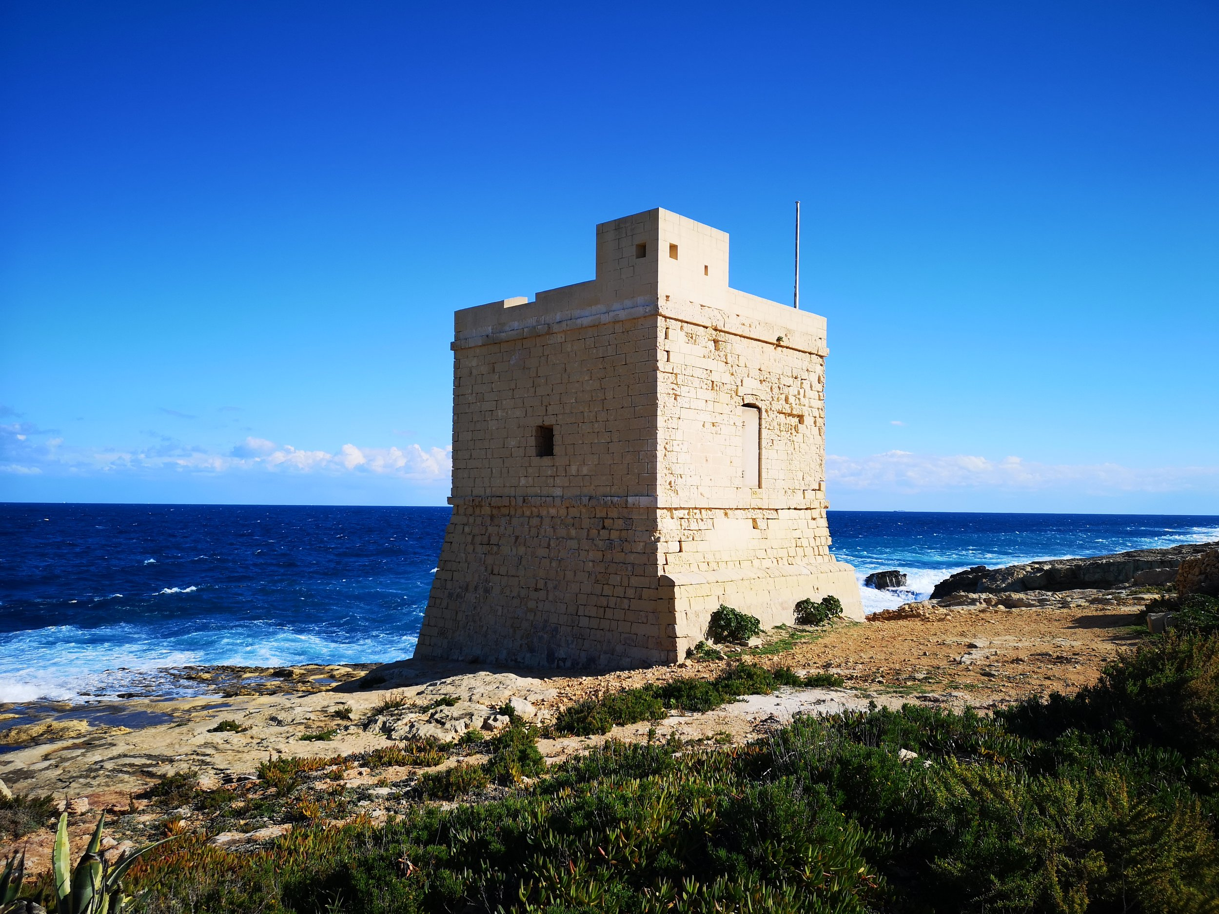 Coastal watchtower