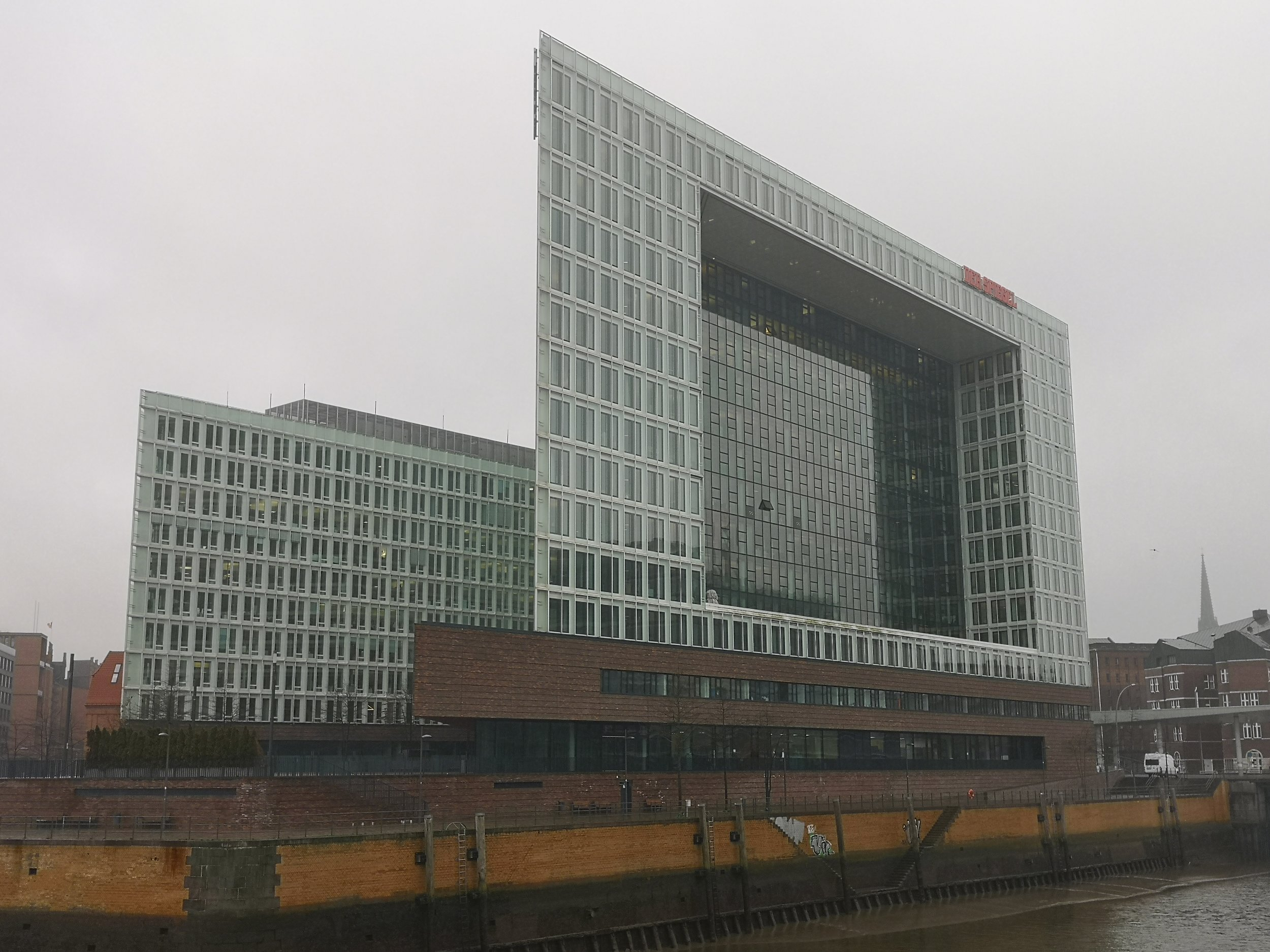 "Headquarter building of ""Der Spiegel"""
