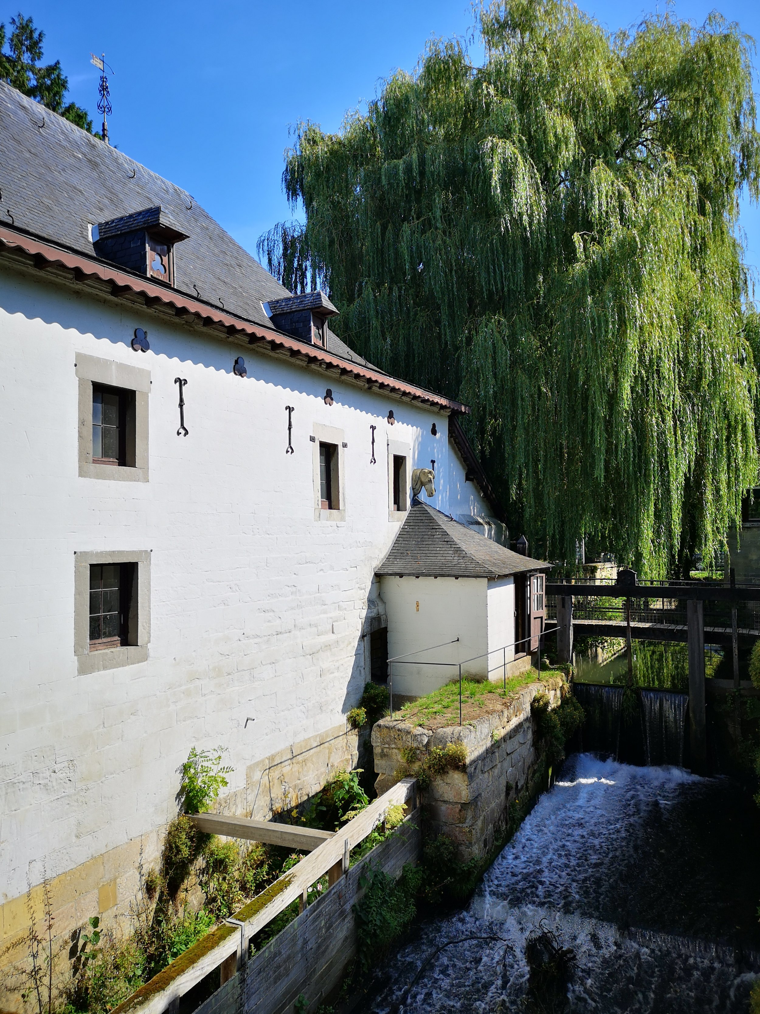 Schaloen water powered mill