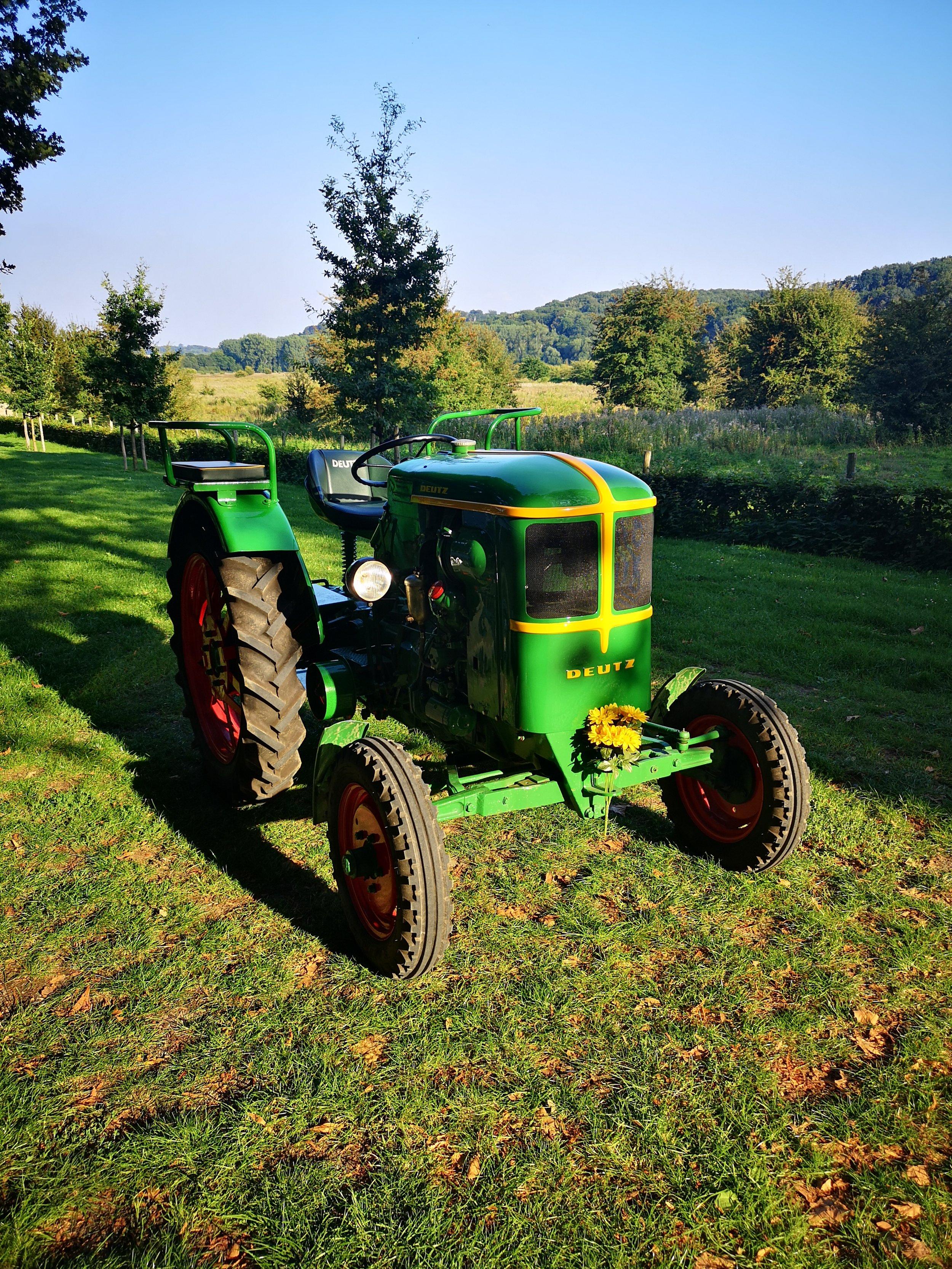 Vintage Deutz tractor