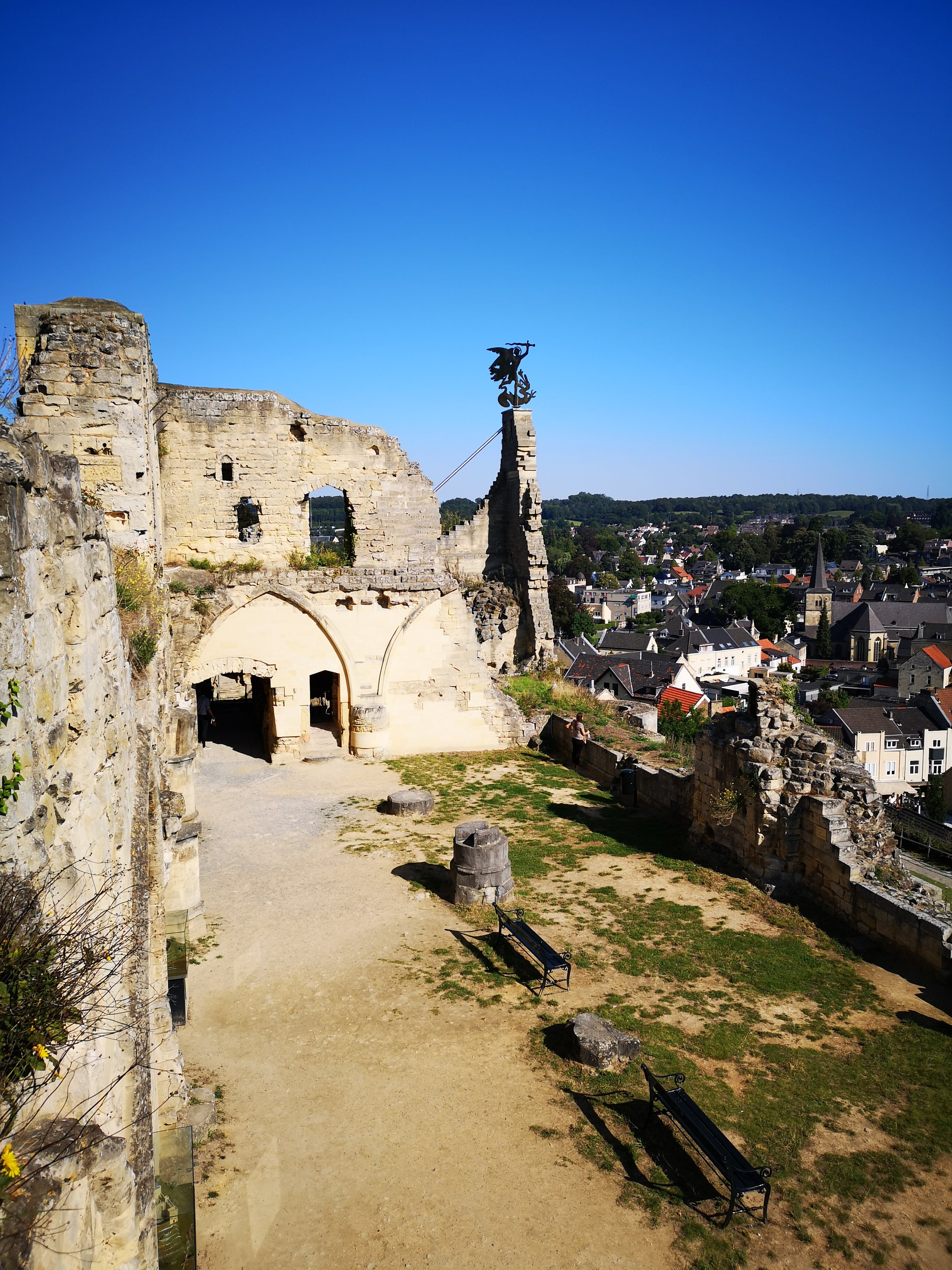 The Valkeburg castle ruin
