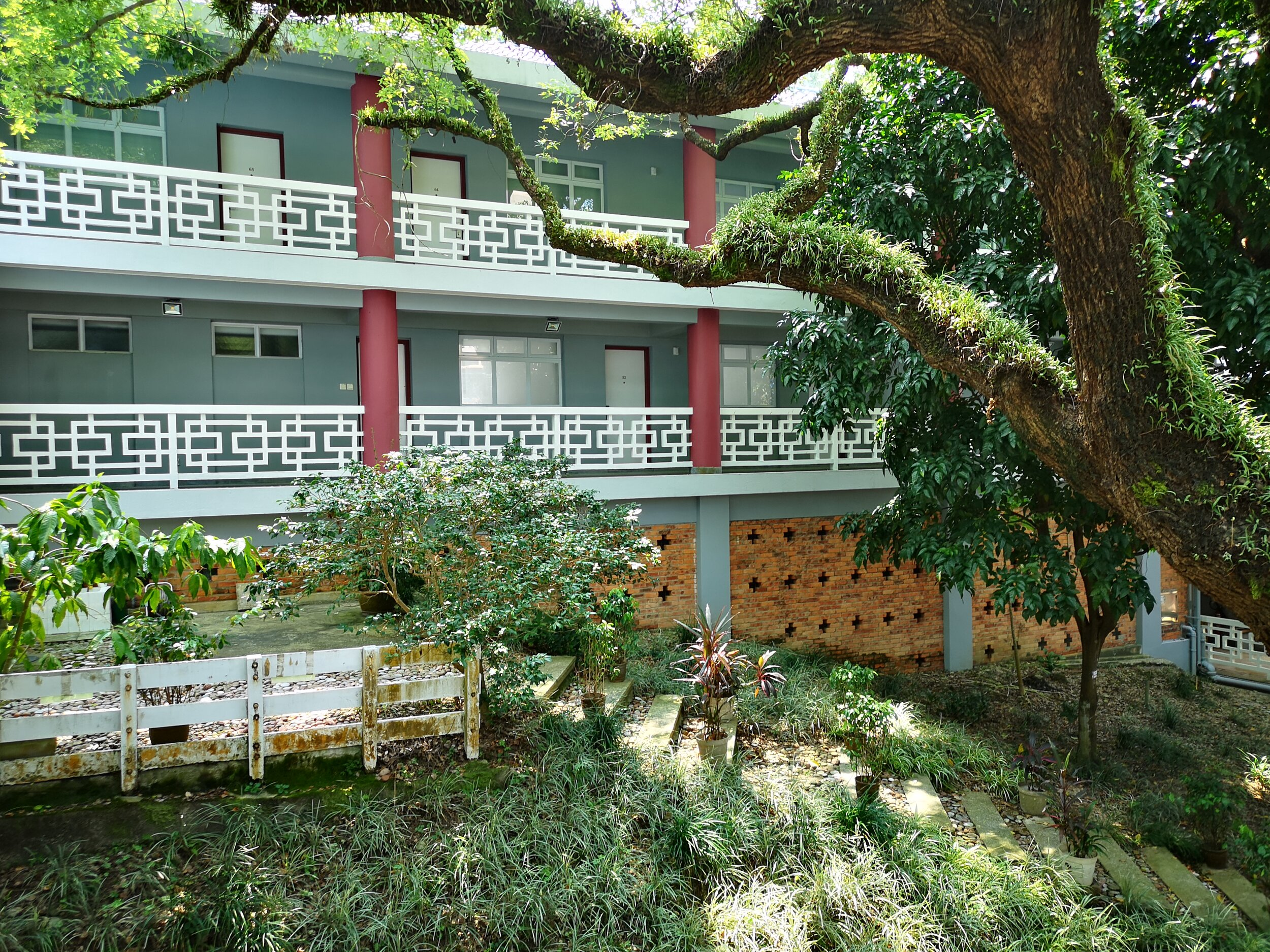 This year I stayed again in the Robert Black College Guest House on the campus of The University of Hong Kong. It is a rustique but quiet place, secluded from the Buzz of Hong Kong.