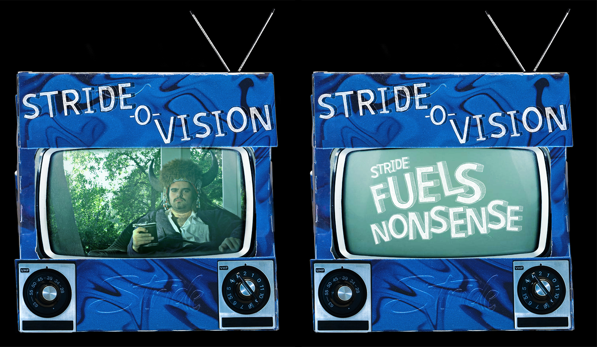Interactive Component:  Hey, Kids!  You too can share your innermost stride confessionals through our youtube app, Stride-O-Vision!  Just use your webcam, and bare your heart and soul for a chance at fame and fortune.