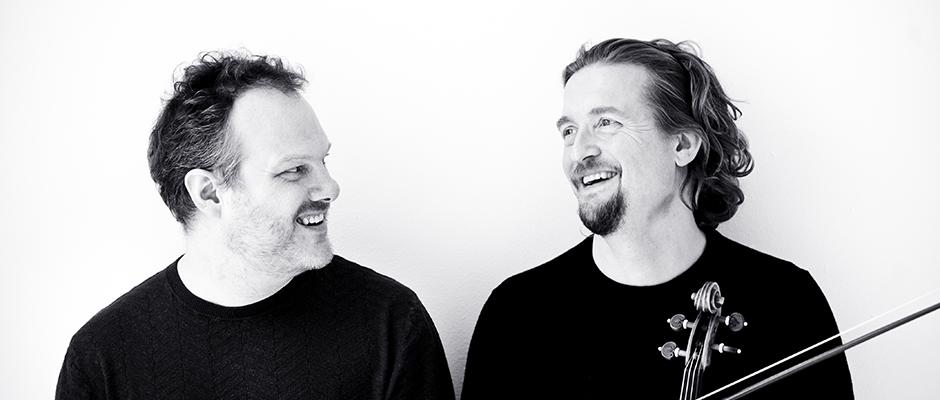 Lars Vogt (left), and Christian Tetzlaff.