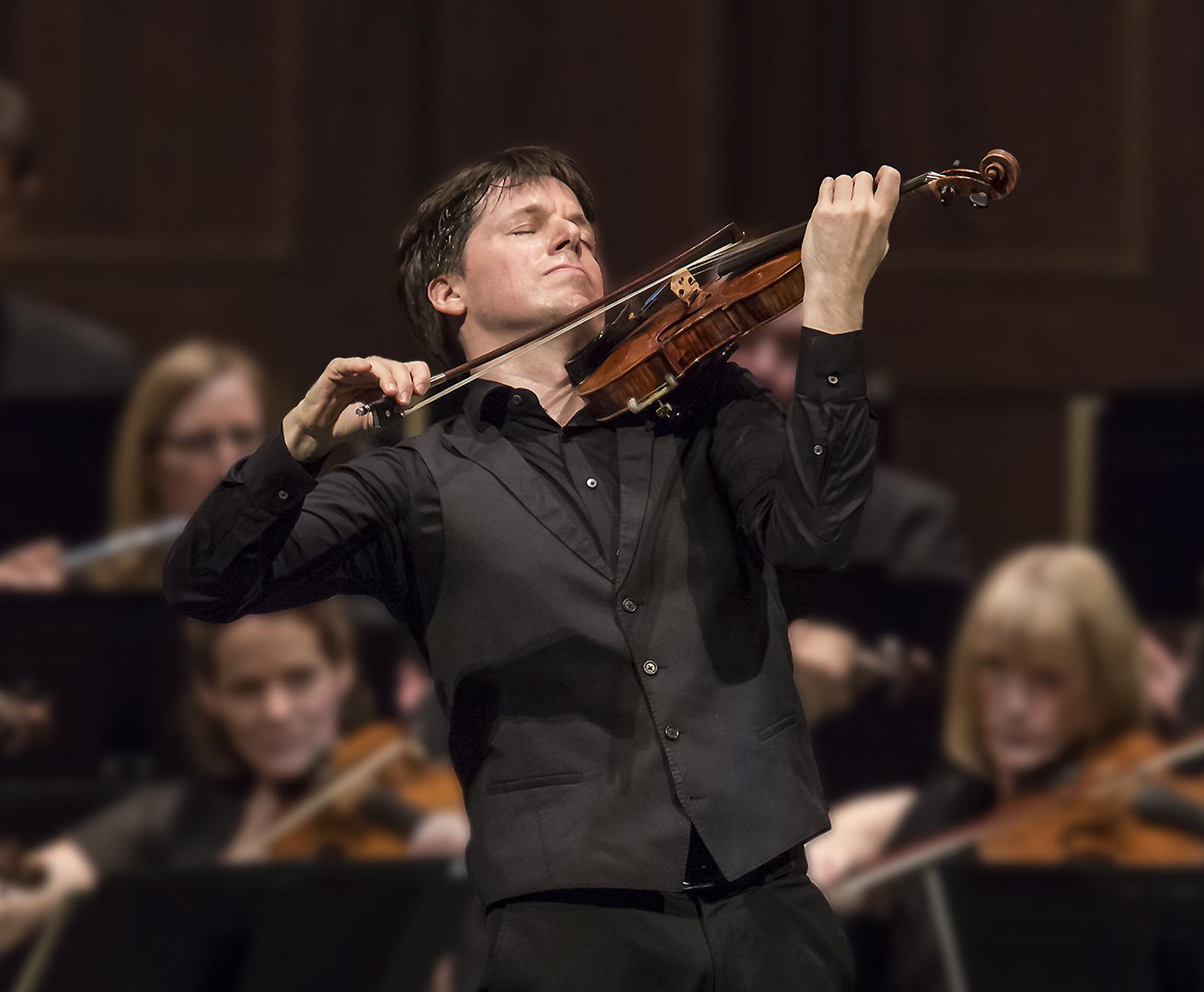 Joshua Bell. David Bazemore photograph