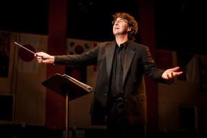 Falmouth Chorale director John Yankee