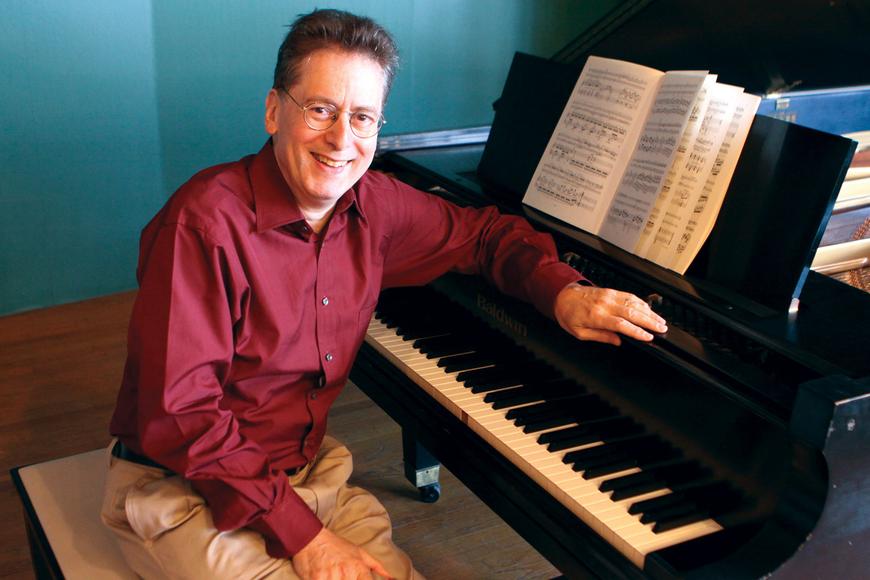 Pianist, Mozart expert Robert Levin.