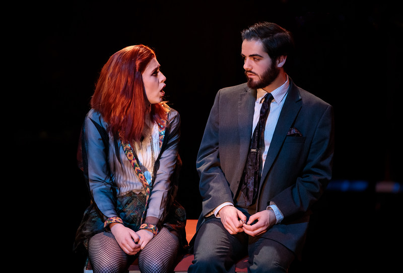 Margaret Sweeney and Stephen Zubricki IV in Poison of Choice. Ben Rose photography