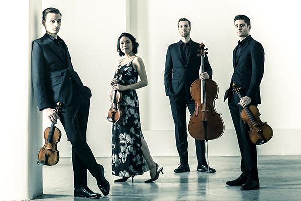 Tesla Quartet. Dario Acosta photograph