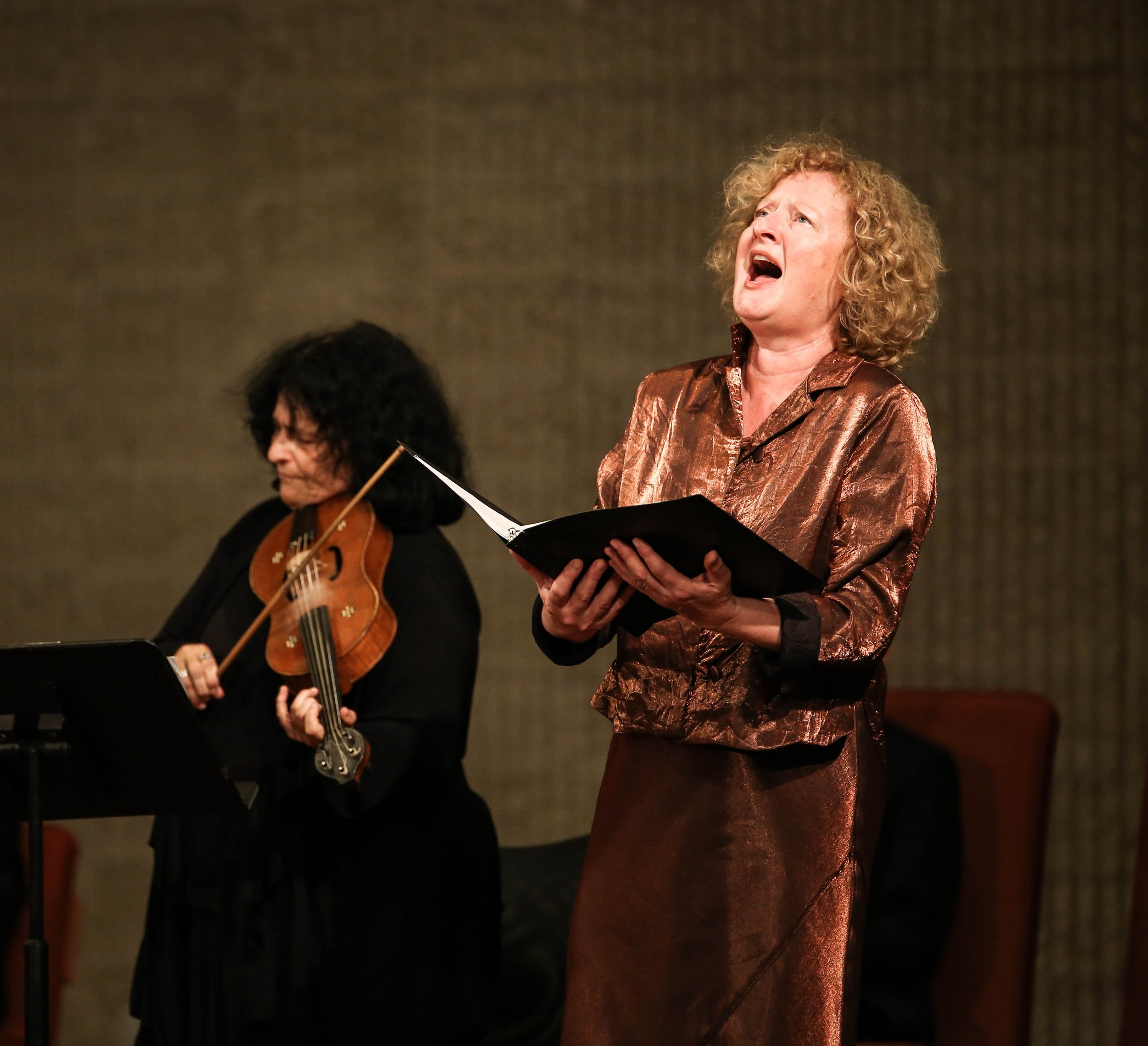 Shira Kammen and Anne Azéma. Ohkyeong Kwon photograph