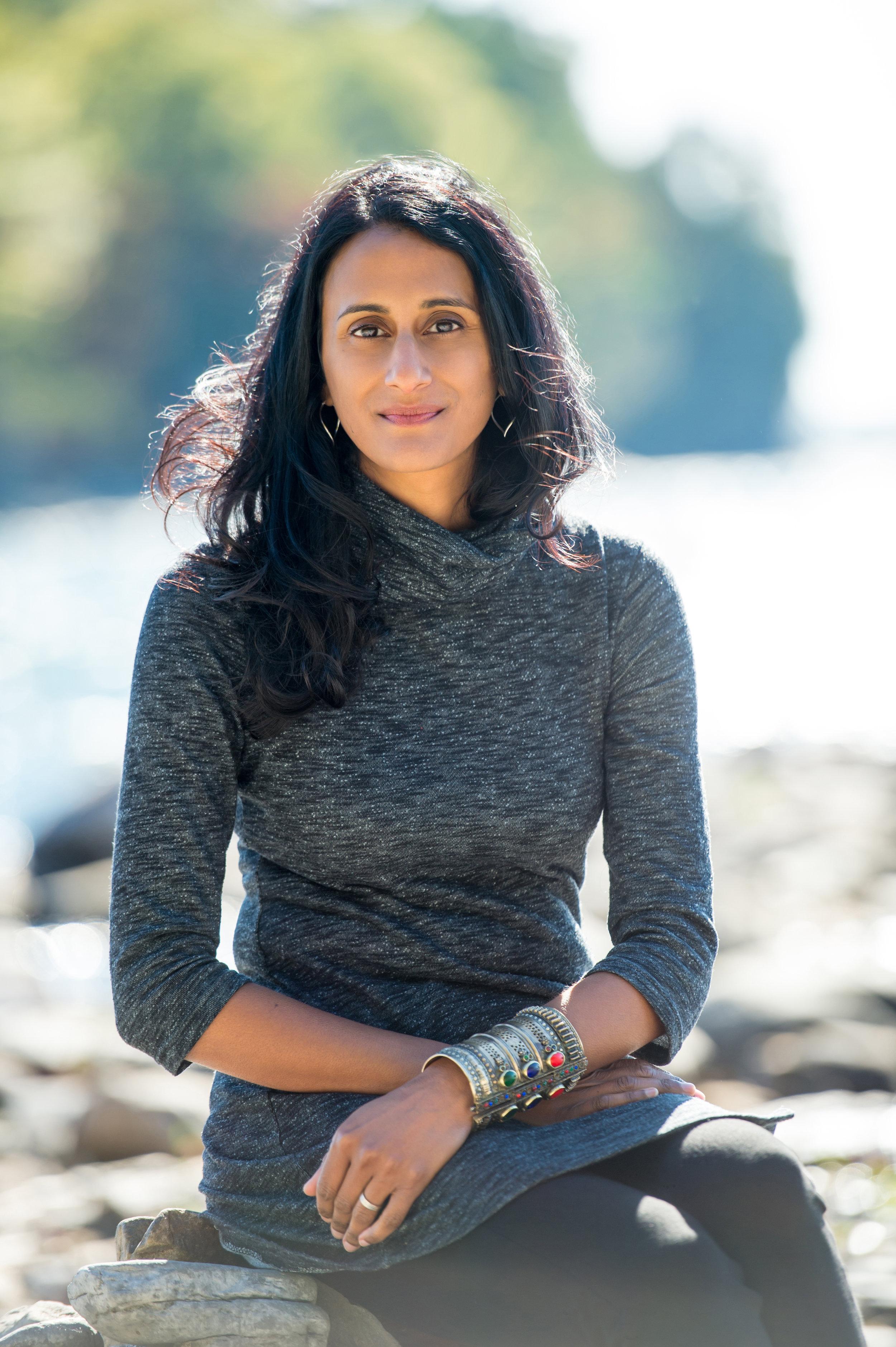 Author and policy expert Bina Venkataraman. Daria Bishop photograph