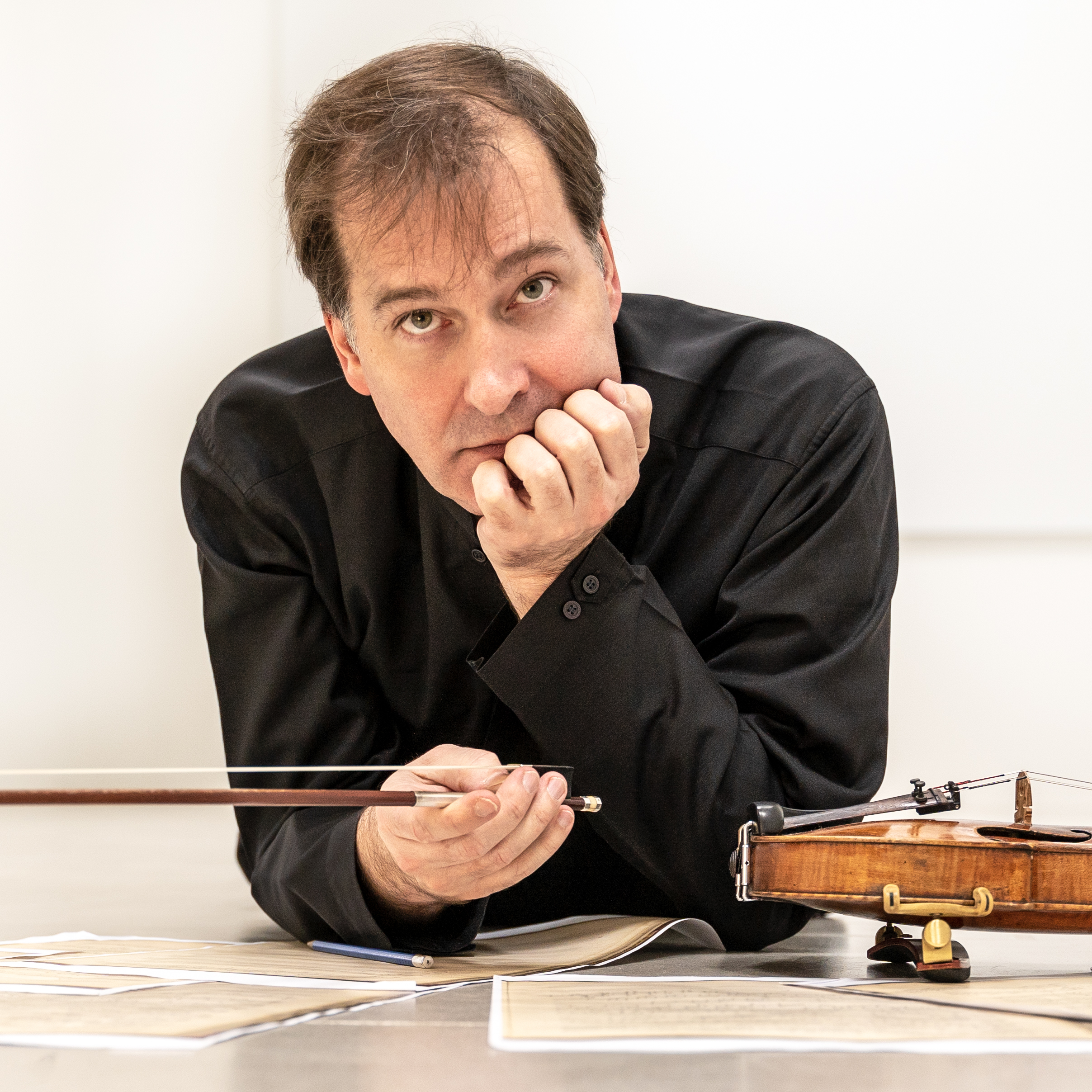 French violinist Philippe Graffin performs the seventh Ysaÿe sonata at the Rockport Chamber Music Festival this week. The work was unknown until Graffin discovered it in 2017.