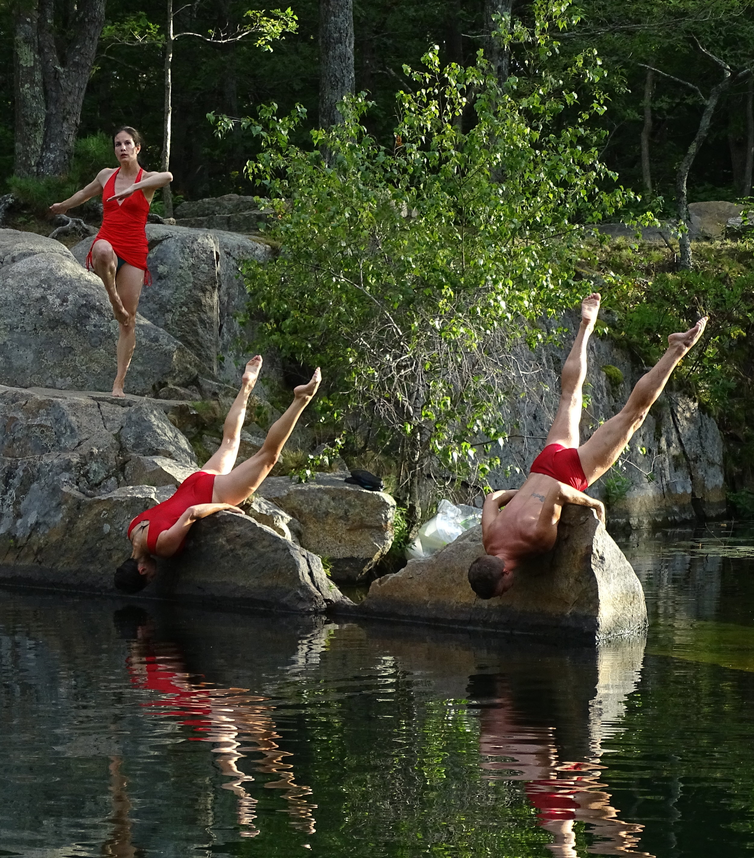 Quarry Dance, Dusan Tynek's annual site-specific performance with his DTDT troupe.
