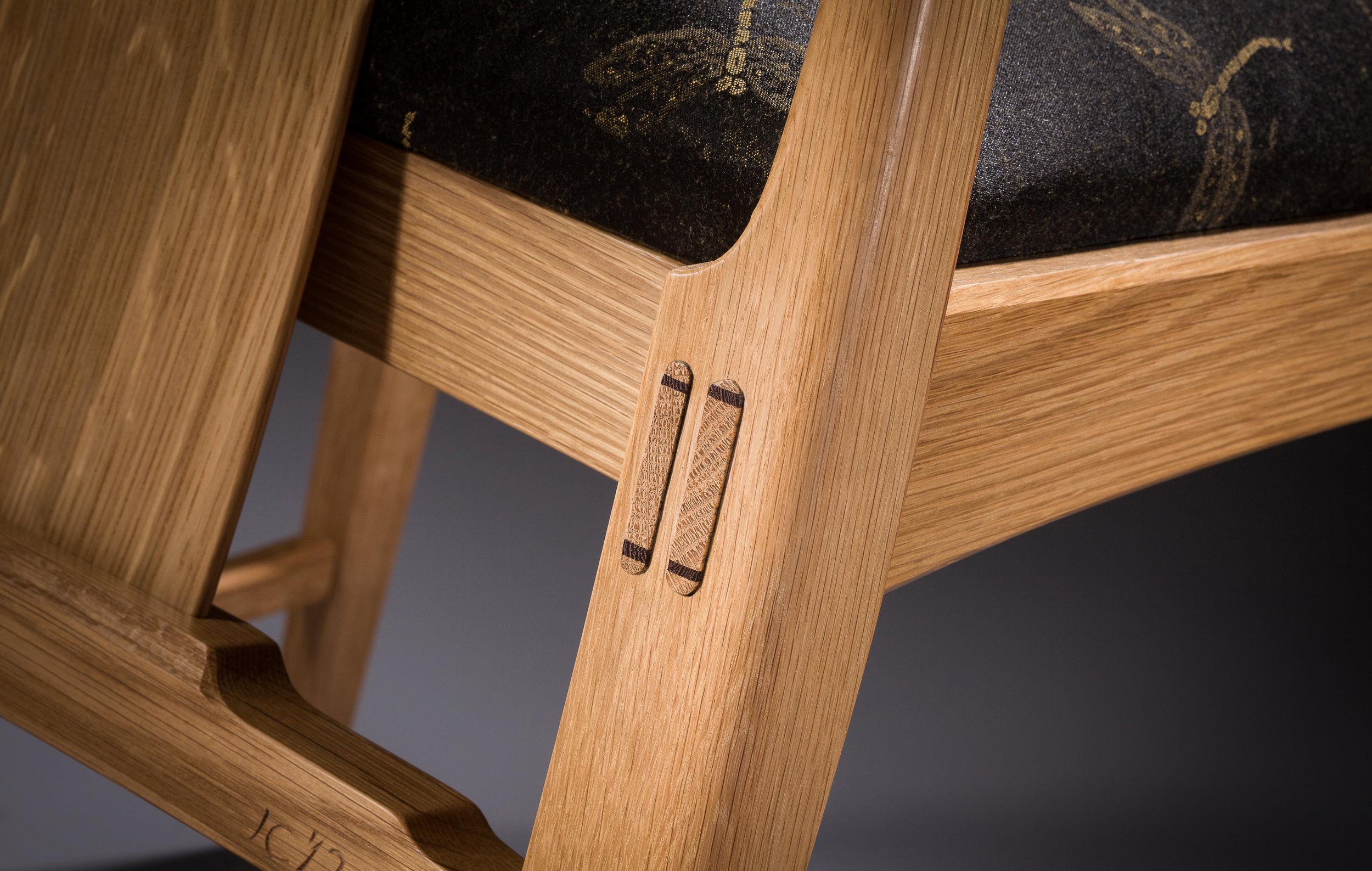 John Cameron, Chair (detail). Bill Truslow photograph