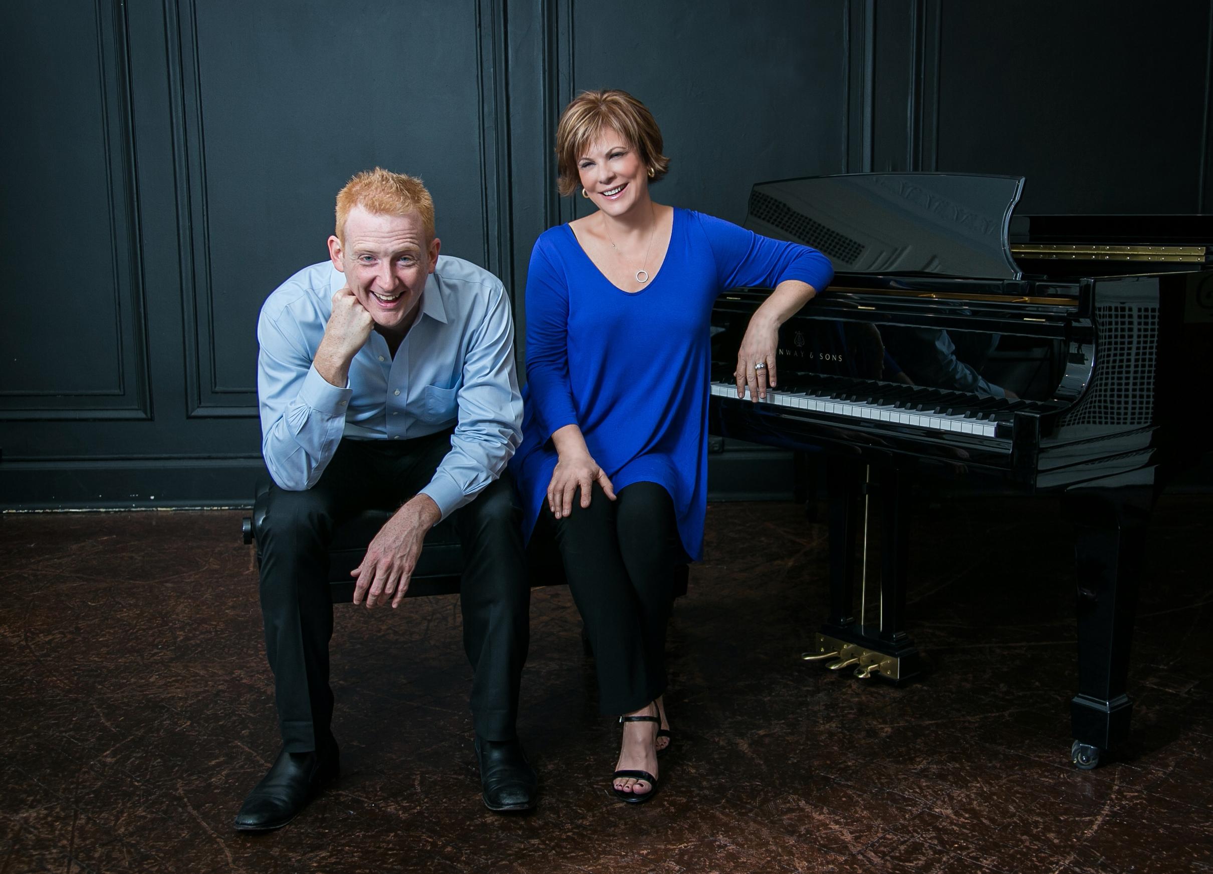 Quattro Mani: Steven Beck and Susan Grace.