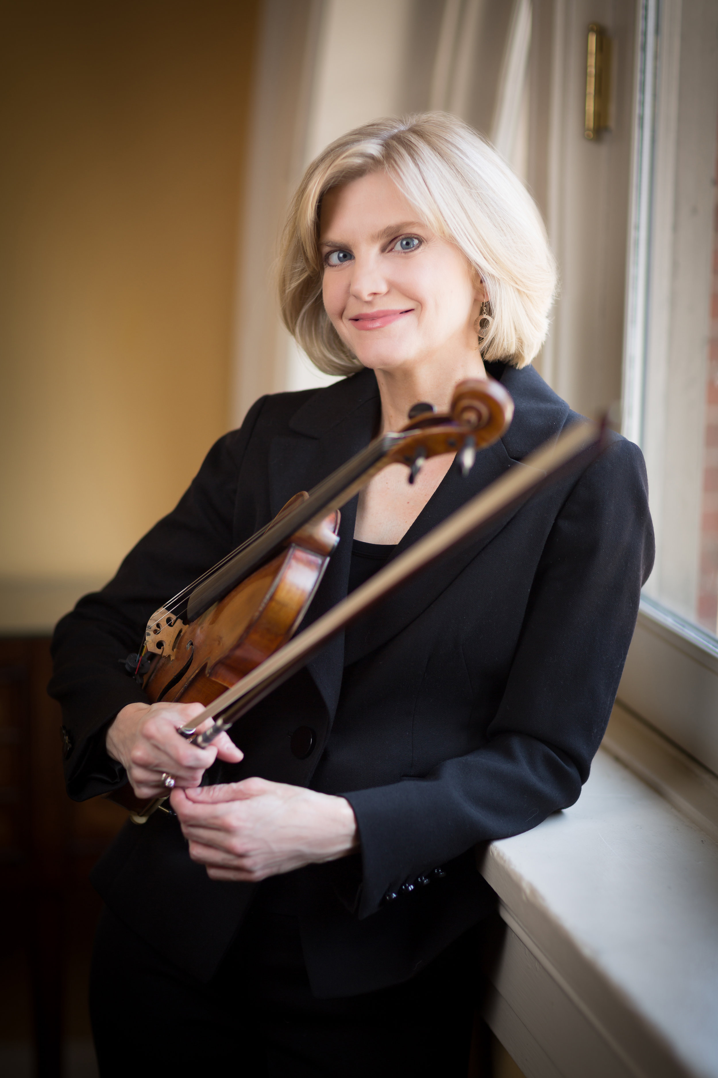 Wendy Putnam, Boston Symphony Orchestra violinist and founder/director of the Concord Chamber Music Society. The group's 20th anniversary season includes a premiere by Yehudi Wyner, and performances by Marc-André Hamelin and Yefim Bronfman,