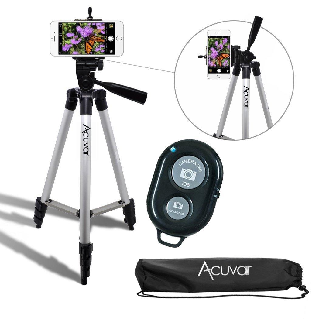 "Acuvar 50"" Camera Tripod"