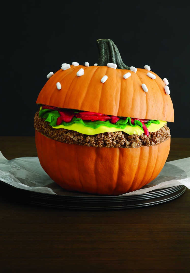 Candy Burger Pumpkin // Everyday with Rachael Ray