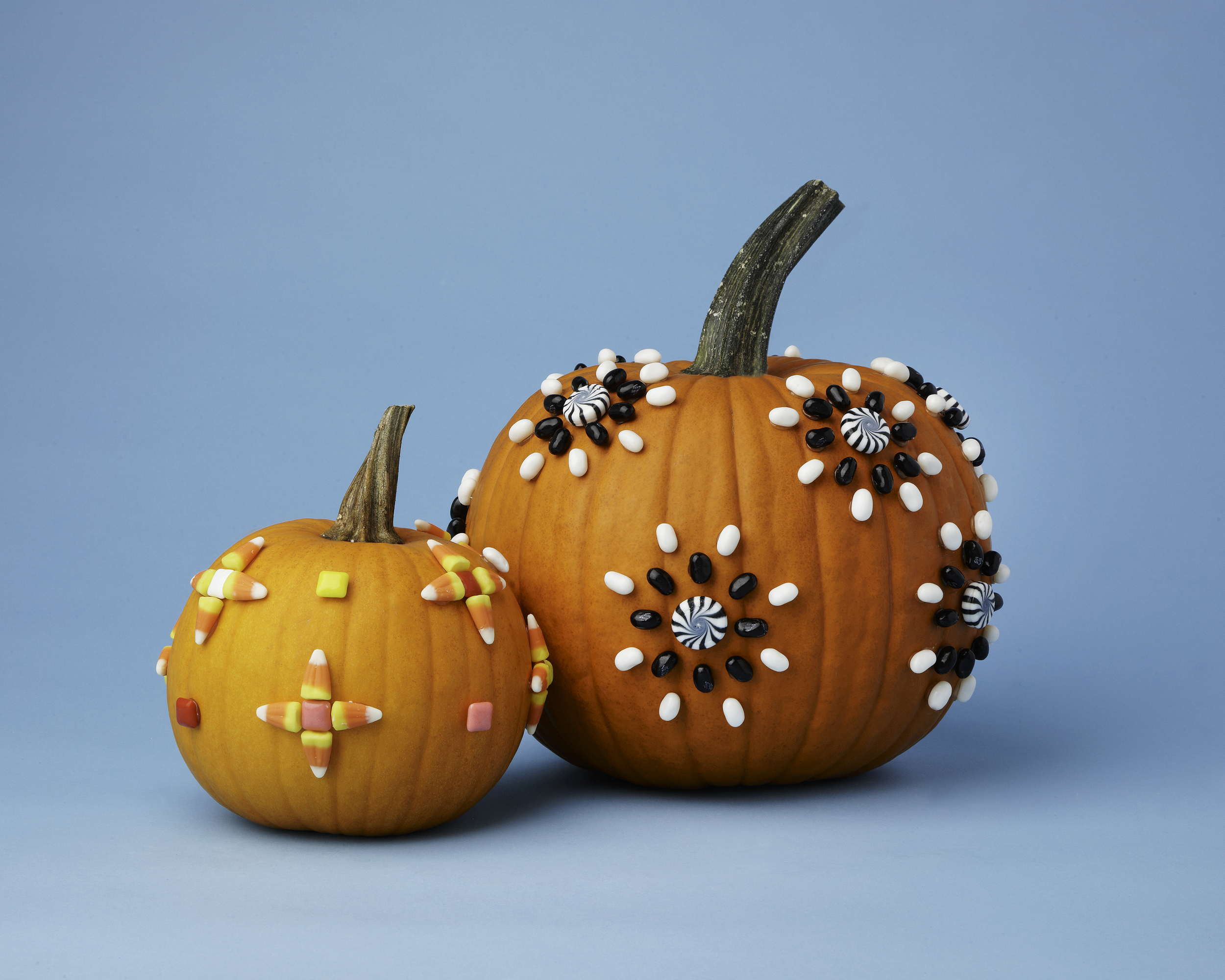 Candy Pumpkins // Real Simple Magazine