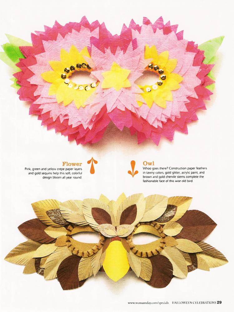 Masks // Woman's Day Magazine