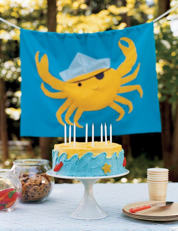 Flag - Treasure Hunt Birthday // Real Simple Magazine