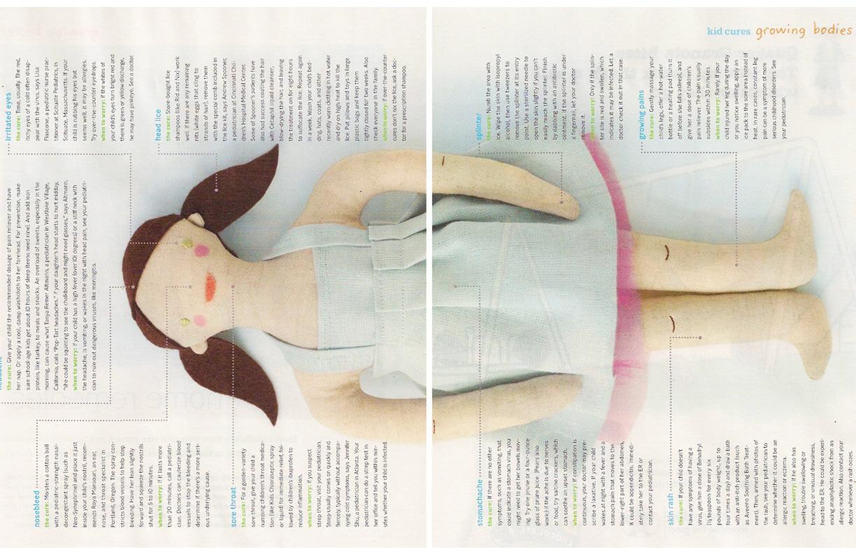 Custom Doll // Real Simple Magazine