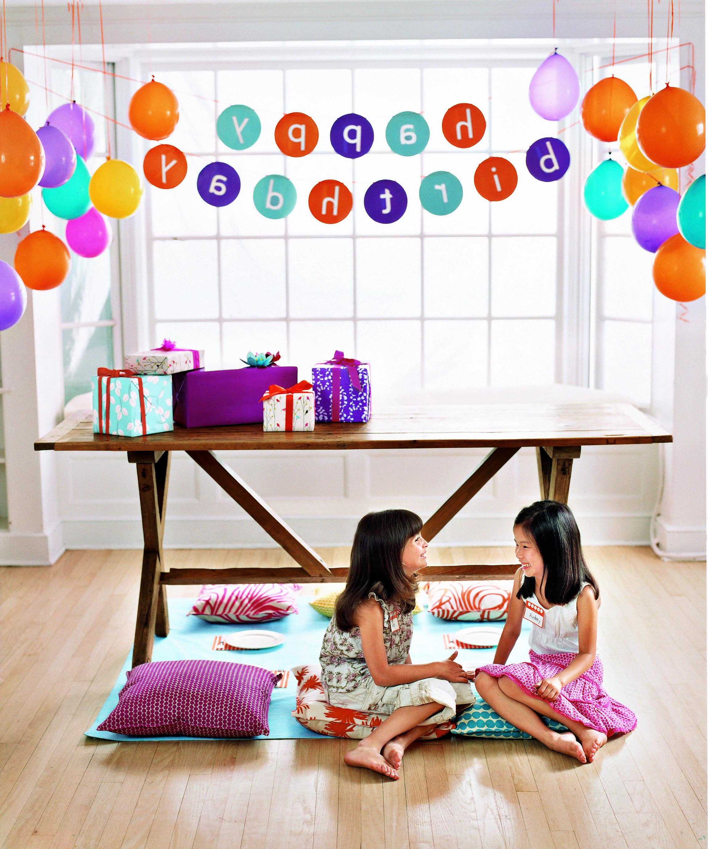 Backwards Birthday Party // Real Simple Magazine