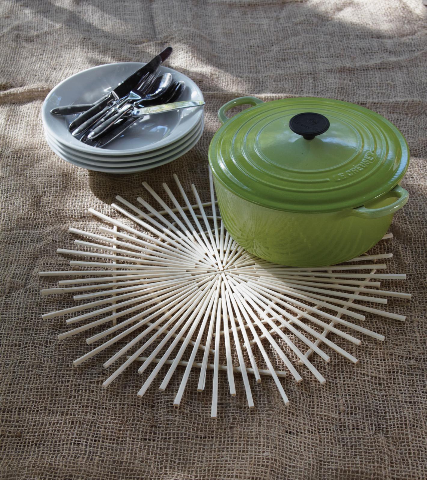 Chopstick Trivet // 'Upcycling' by Danny Seo