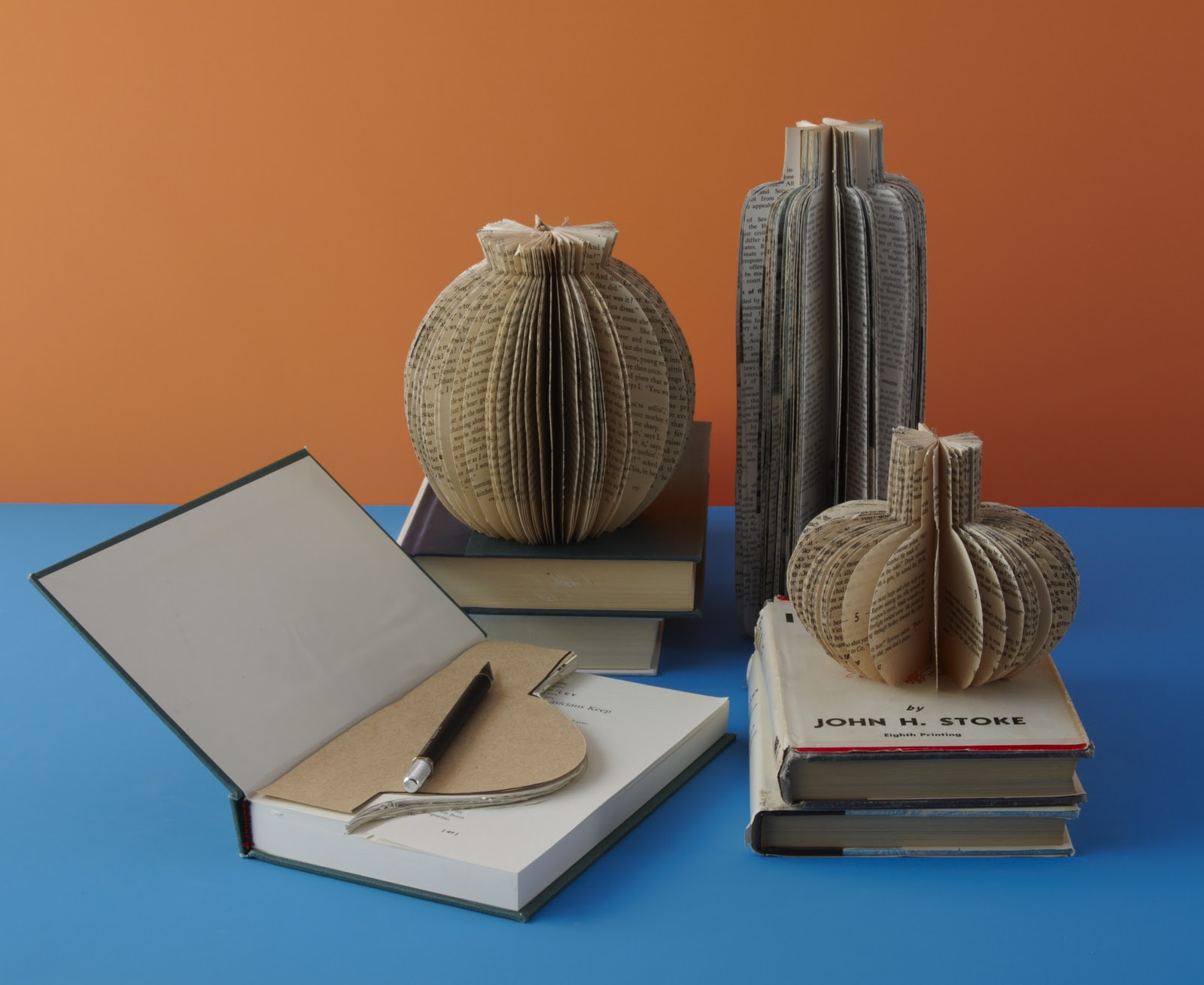 Paper Vases // 'Upcycling' by Danny Seo