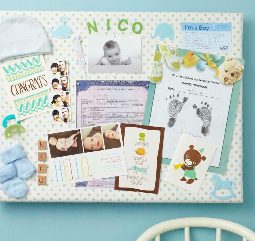 Nursery Collage // American Baby Magazine